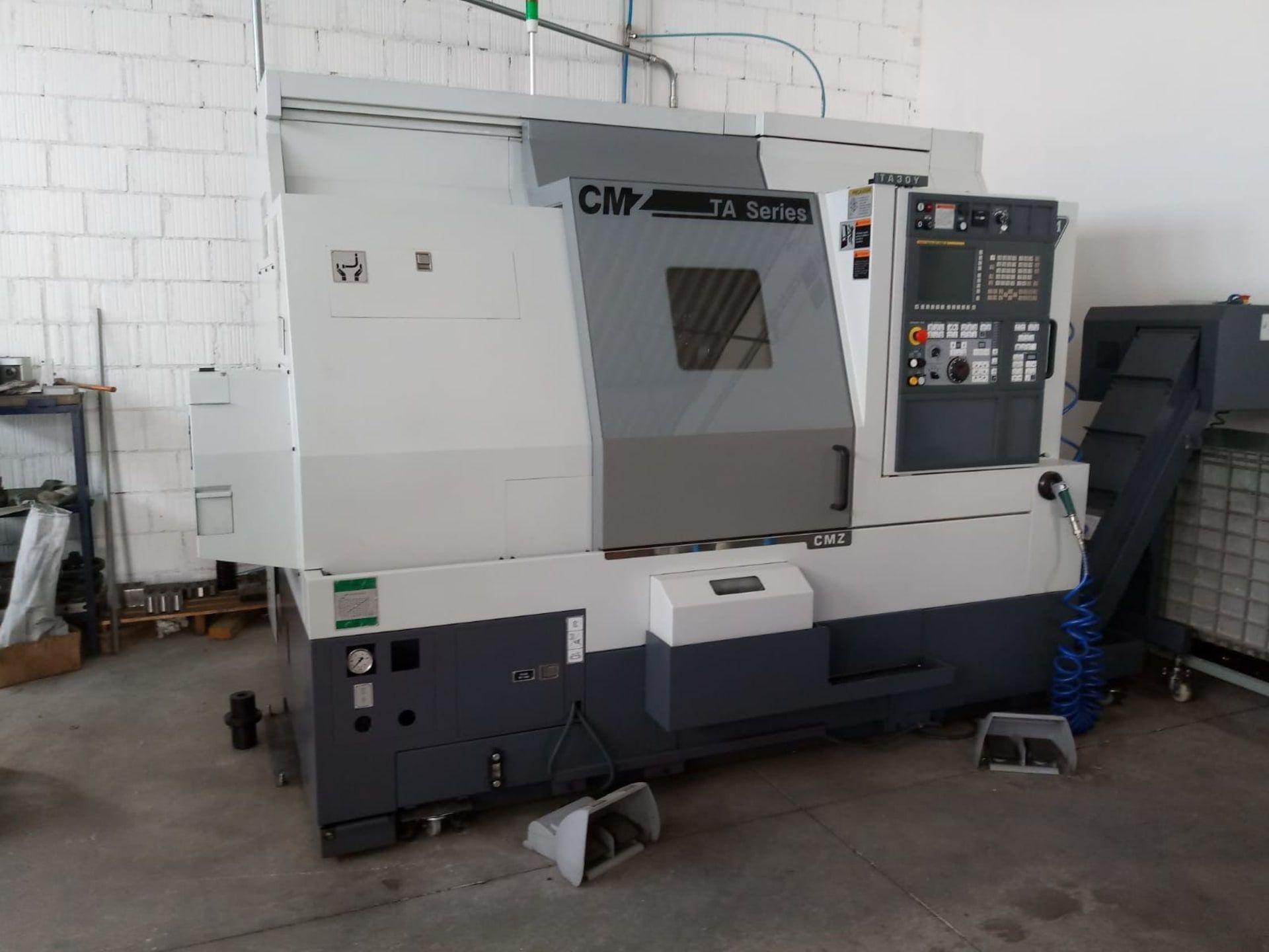 CMZ TA 30Y 4-Achs-CNC-Drehmaschine