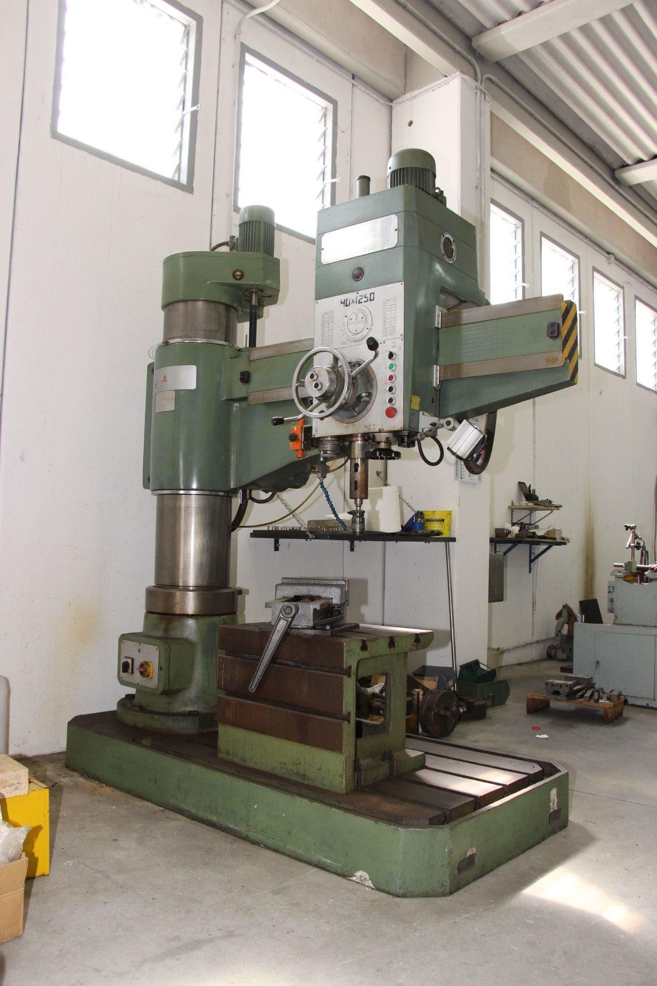 LTF 40x1250 Radialbohrmaschine