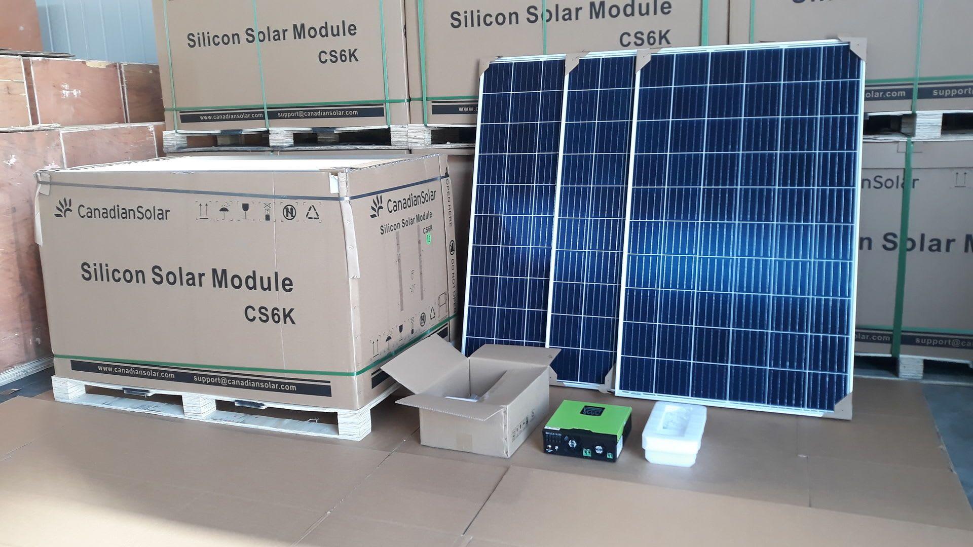 SOLAR Photovoltaik-Kit 5 KW A ++ класс