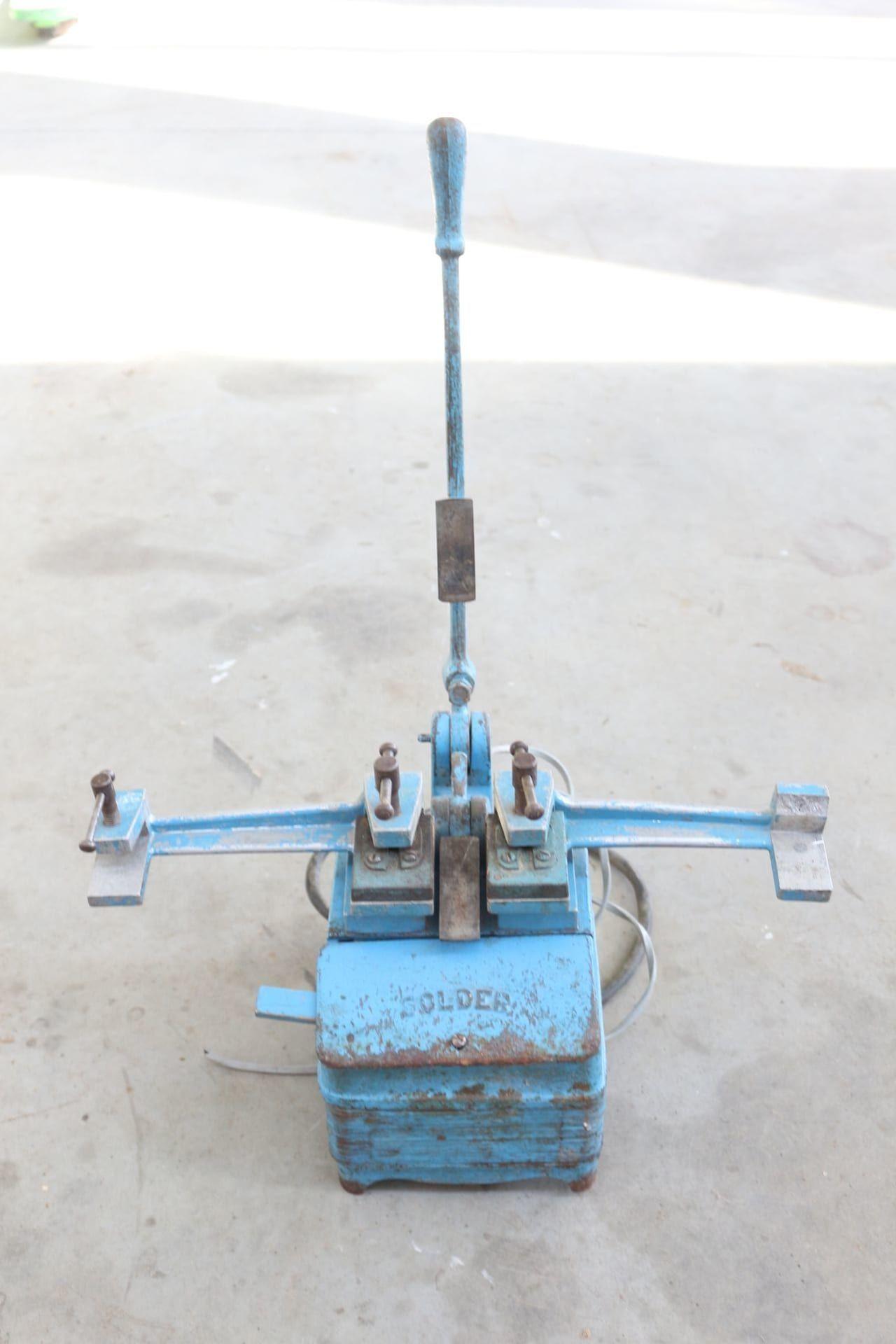 SOLDER Schweißmaschine für Bandsägeblätter