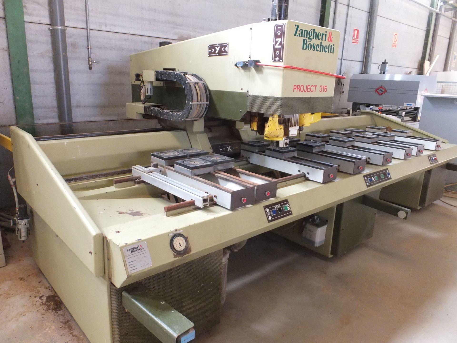 ZANGHERI & BOSCHETTI PROJECT 316 CNC-Bearbeitungszentrum