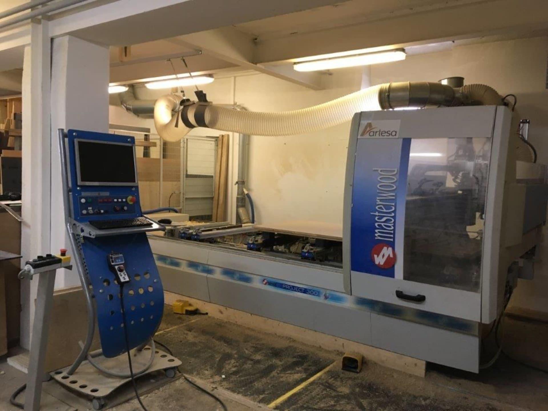 PROYECTO MASTERWOOD 3000 CNC-Bearbeitungszentrum