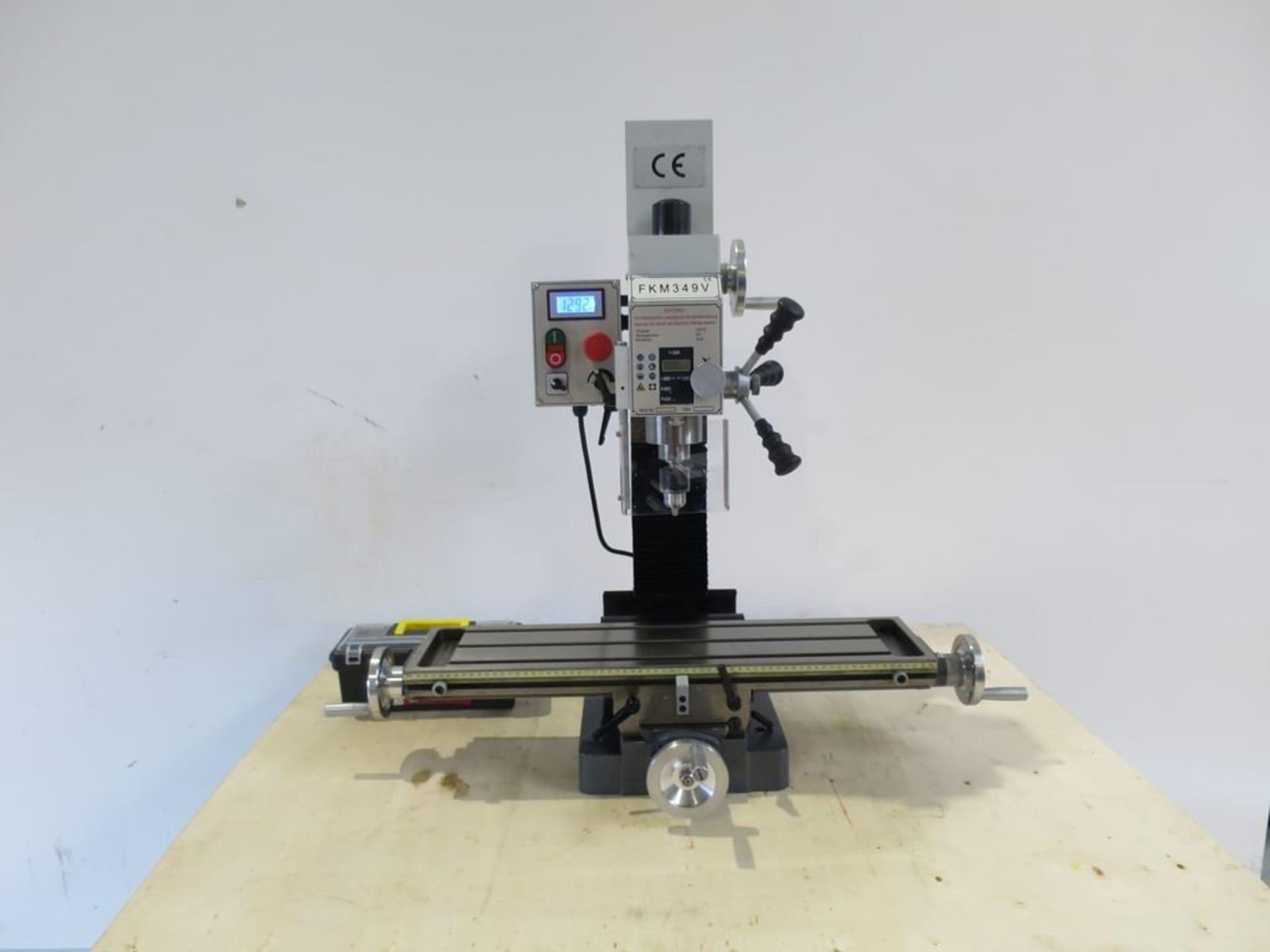 KAMI FKM 349 Bohr- und Fräsmaschine