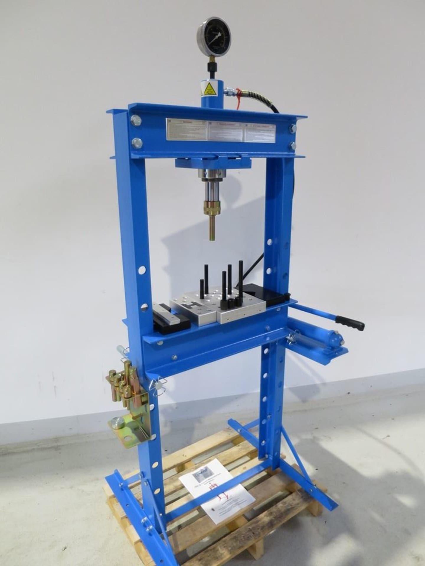 HBM P 20 Werkstattpresse - hydraulisch