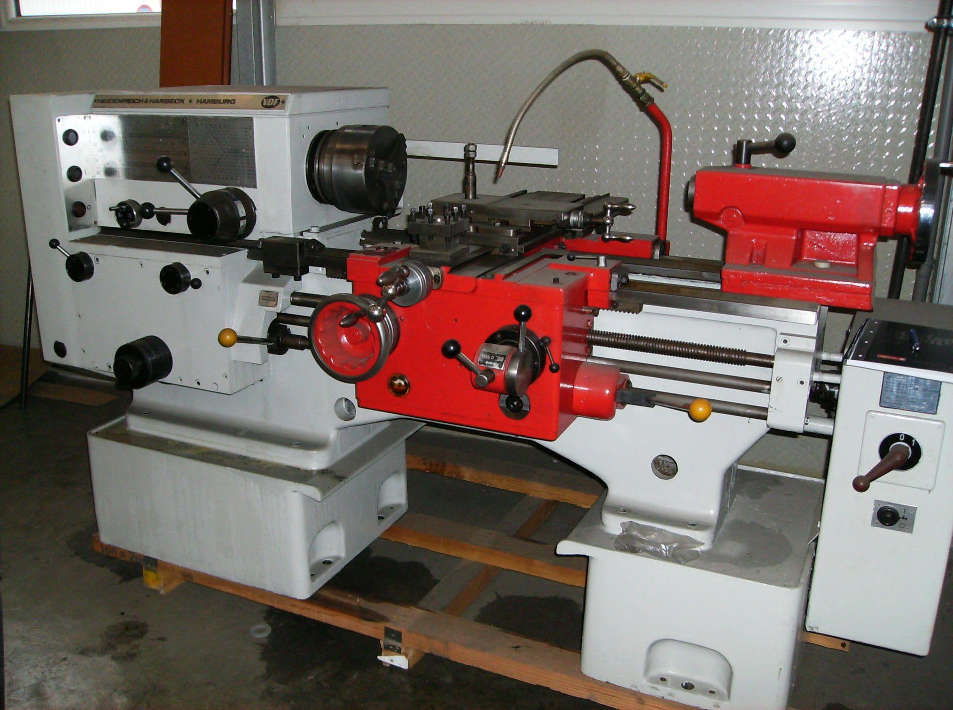 HEIDENREICH & HARBECK 18 R0 Leit- und Zugspindeldrehmaschine