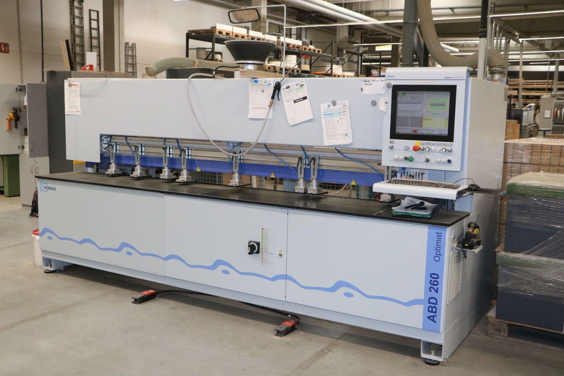 HOMAG OPTIMAT ABD260 / D28 CNC Bohr- und Dübeleintreibautomat