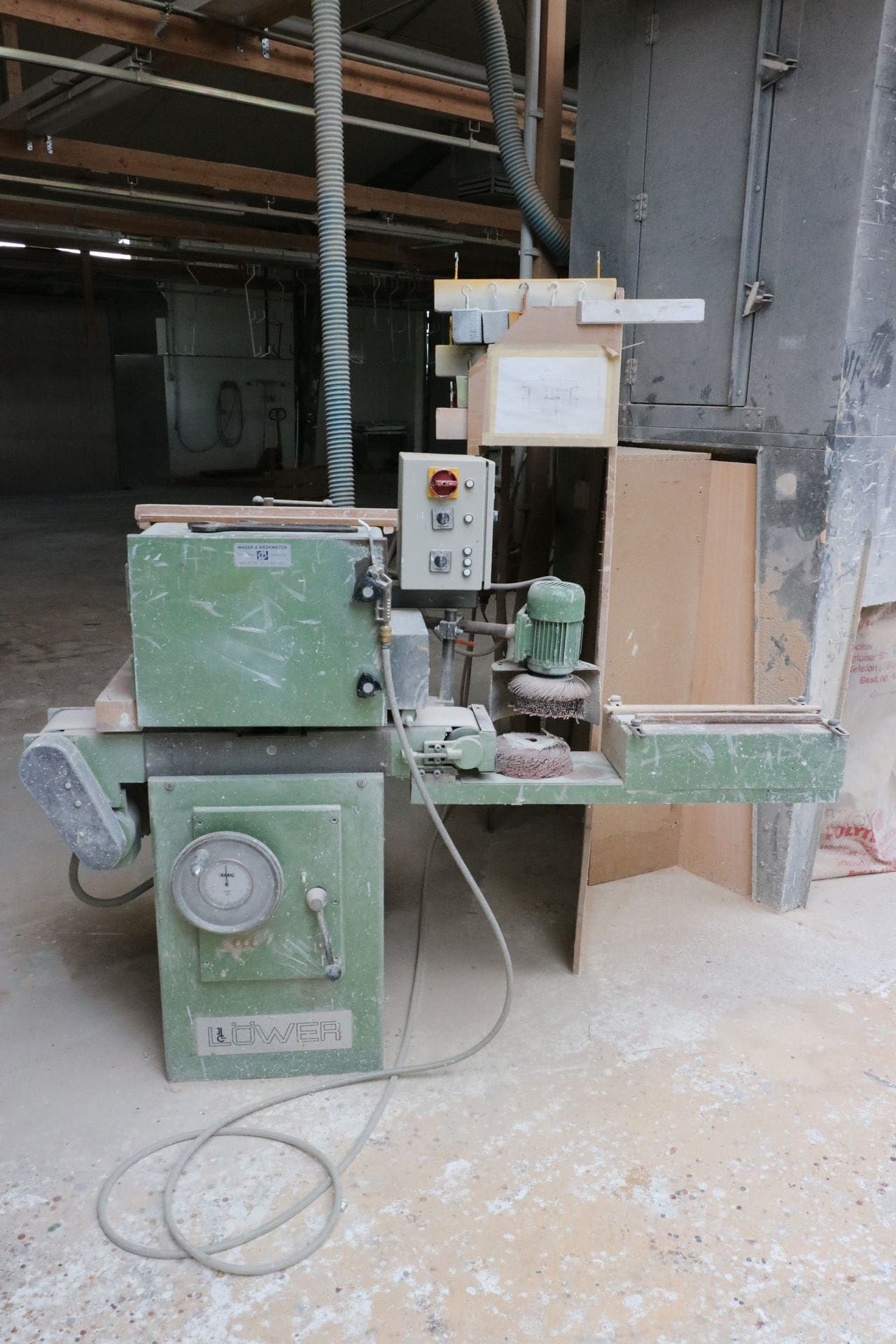 LÖWER LZ 2 Bürstenschleifmaschine
