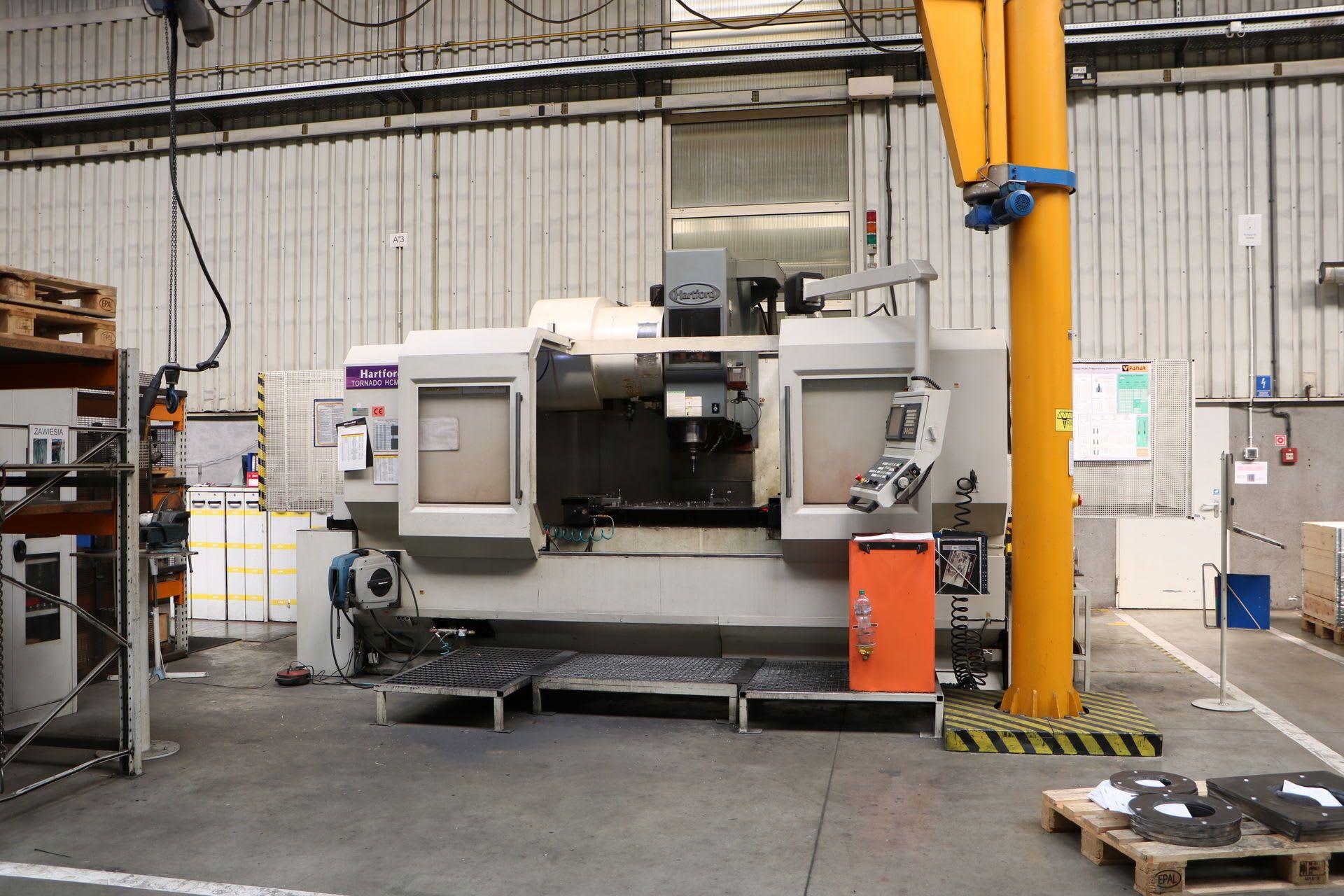 HARTFORD TORNADO HCMC-15 Vertikal-Bearbeitungszentrum