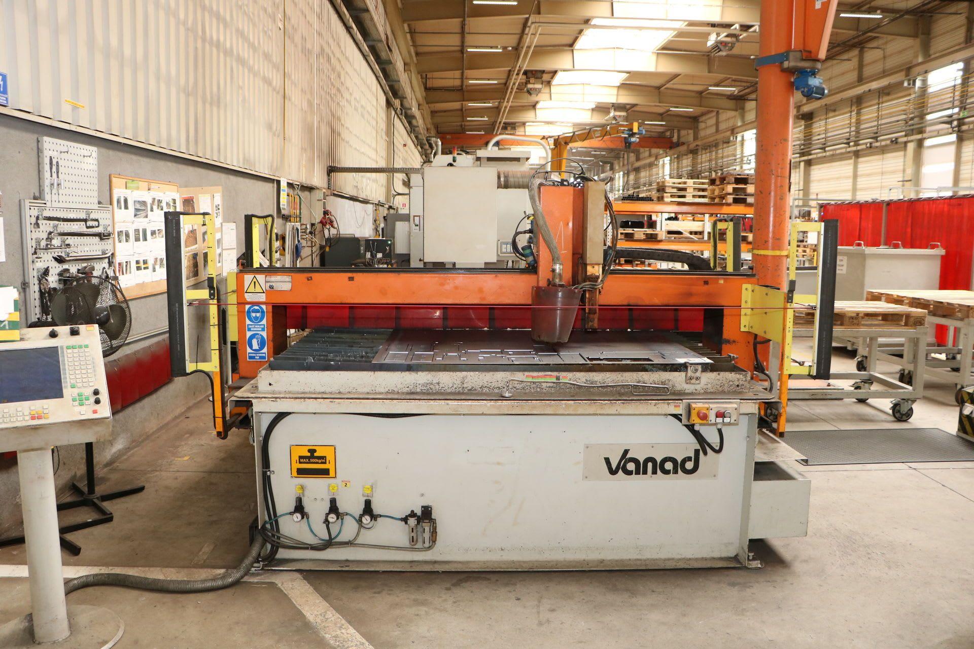 VANAD PROXIMA Plasmaschneidmaschine mit DONALDSON Filteranlage
