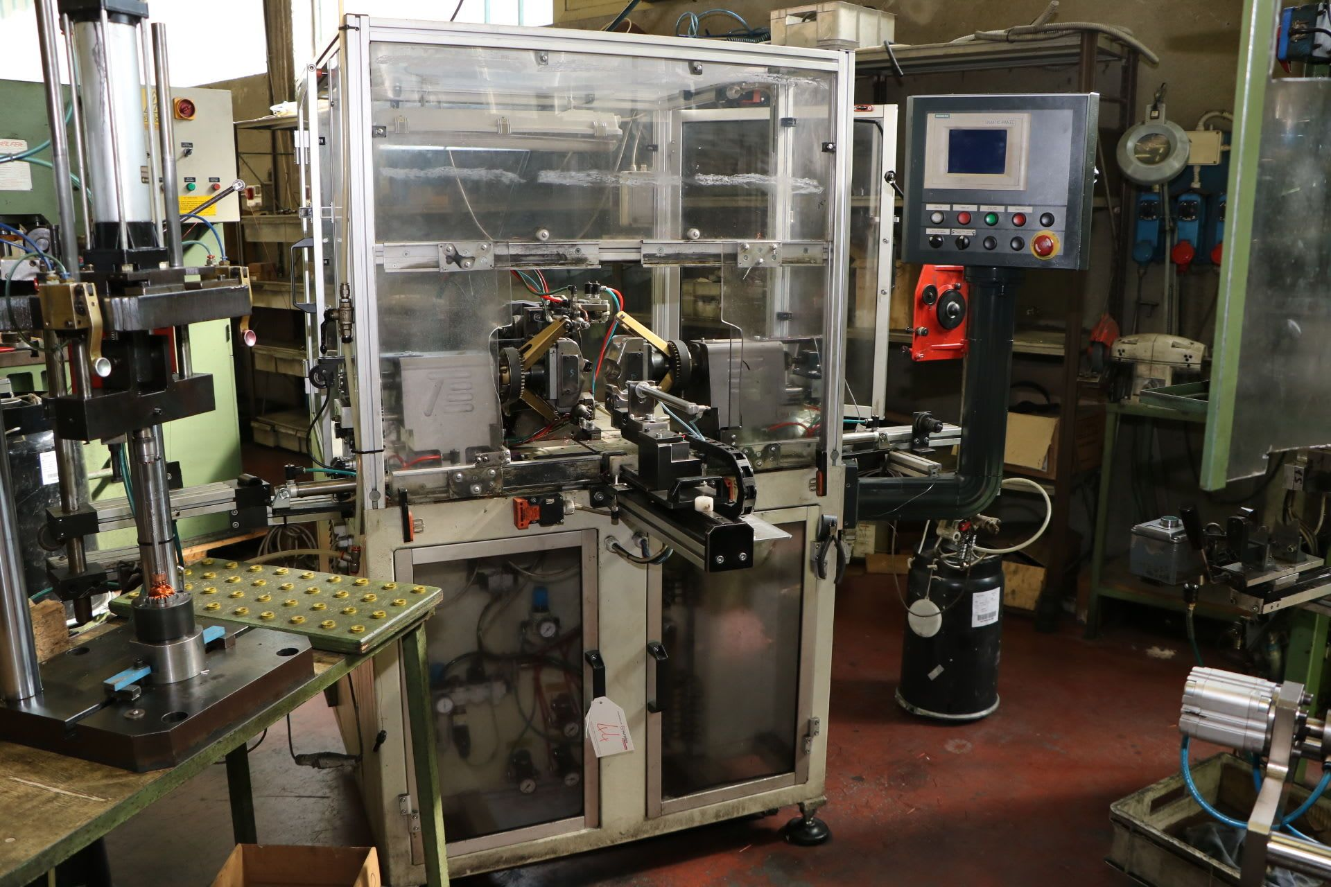 AXIS DAW 200 Wickelmaschine pour Rotoren von Elektromotoren