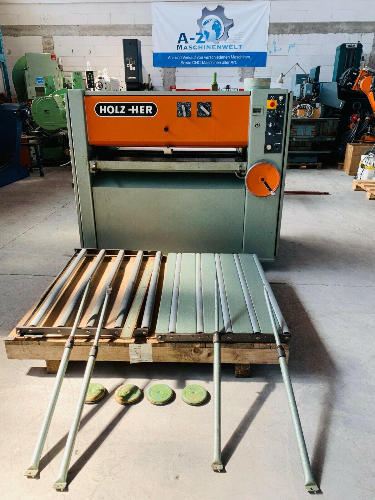 HOLZHER 1370 Breitbandschleifmaschine