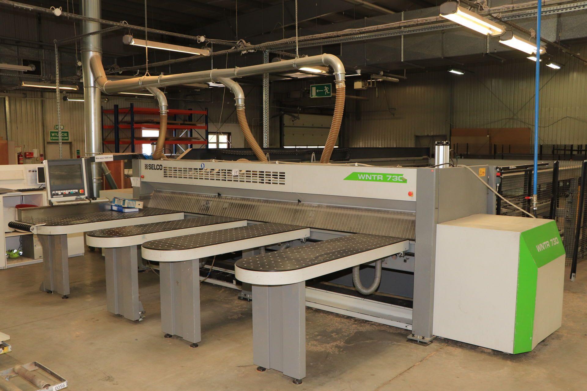 SELCO WNTR 730 Plattensäge mit Hubtisch