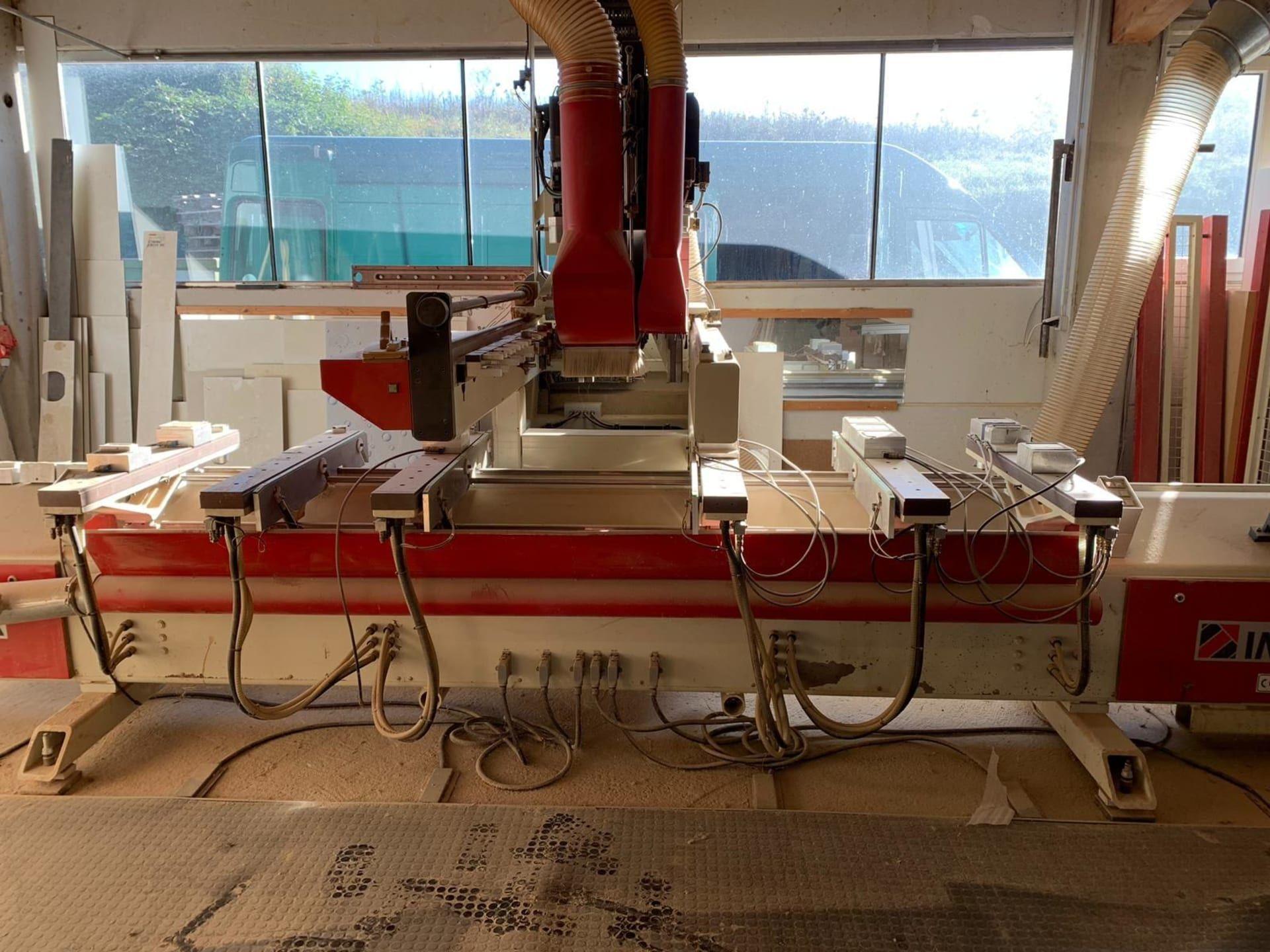 IMA Quadroflex CNC-Bearbeitungszentrum