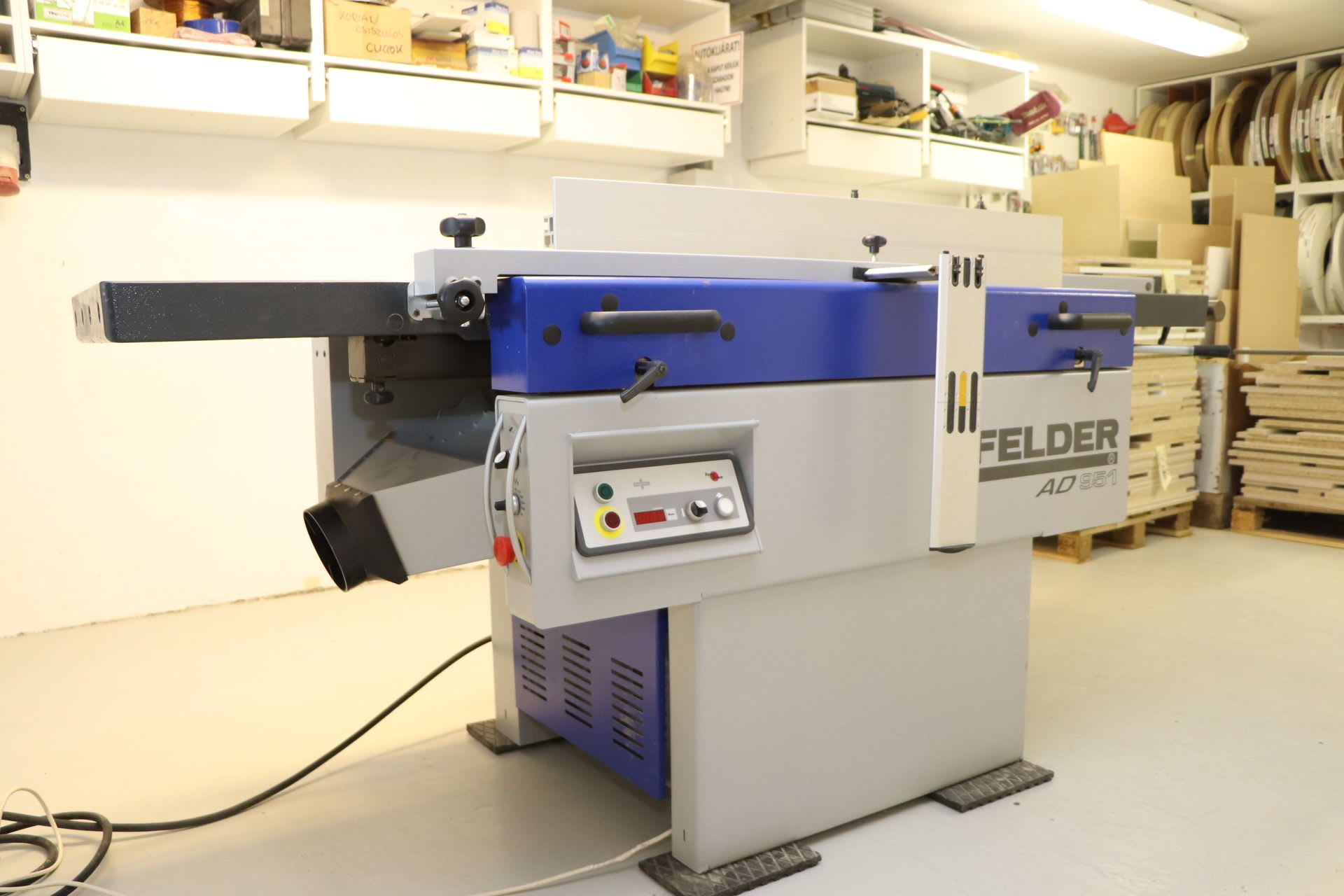 FELDER AD 951 kombinierte Abrichte-Dickenhobelmaschine