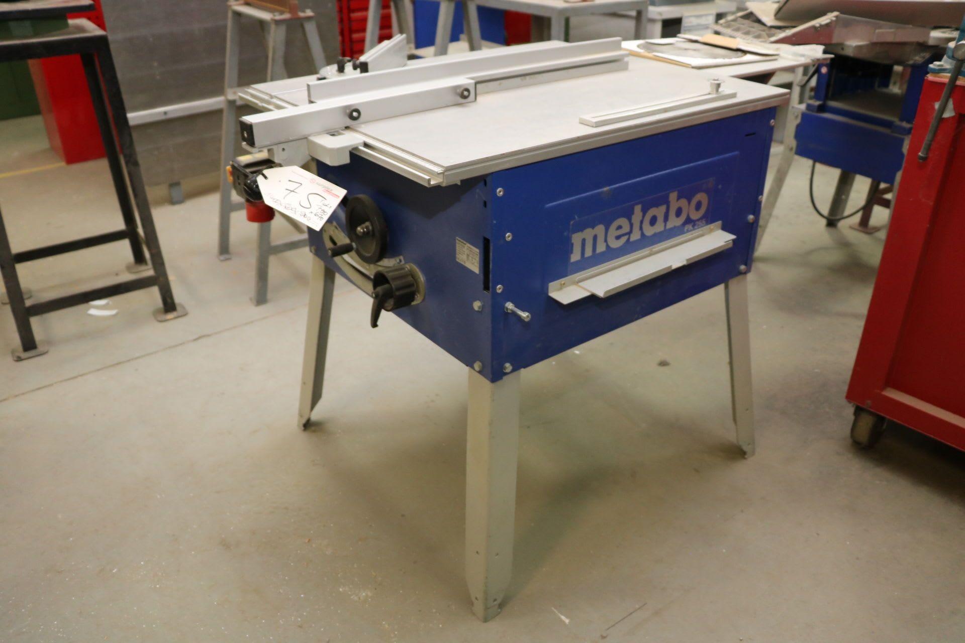METABO PK 255 Örnekler
