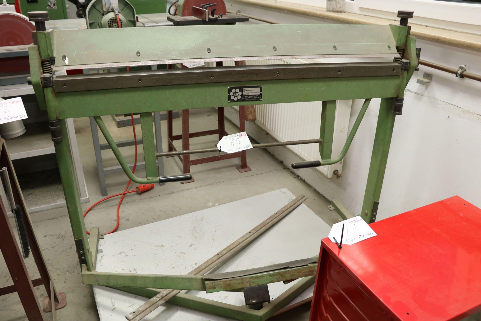 HM HS-1 L Manuelle Schwenkbiegemaschine