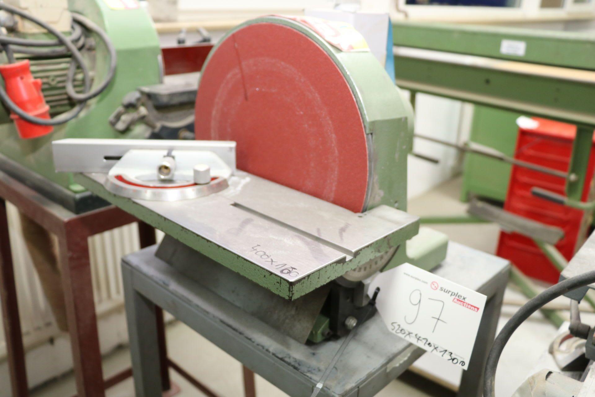 HEMA SSM 300 Tellerschleifmaschine