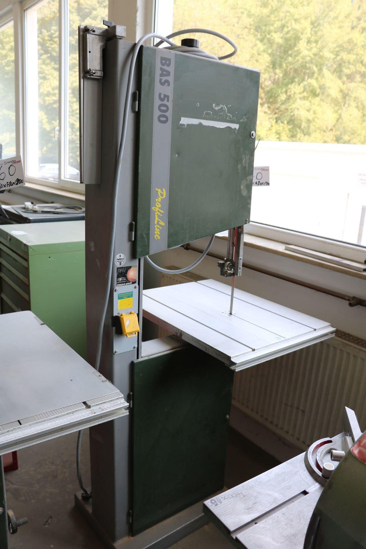 ELEKTRA BECKUM BAS 500 DNB Vertikal-Bandsägemaschine