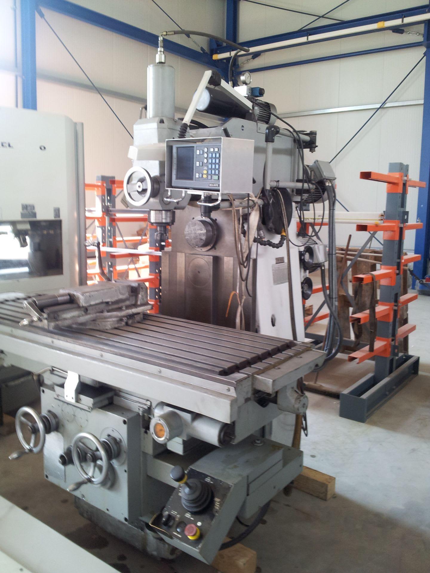 RECKERMANN FW 1800 Universalfräsmaschine