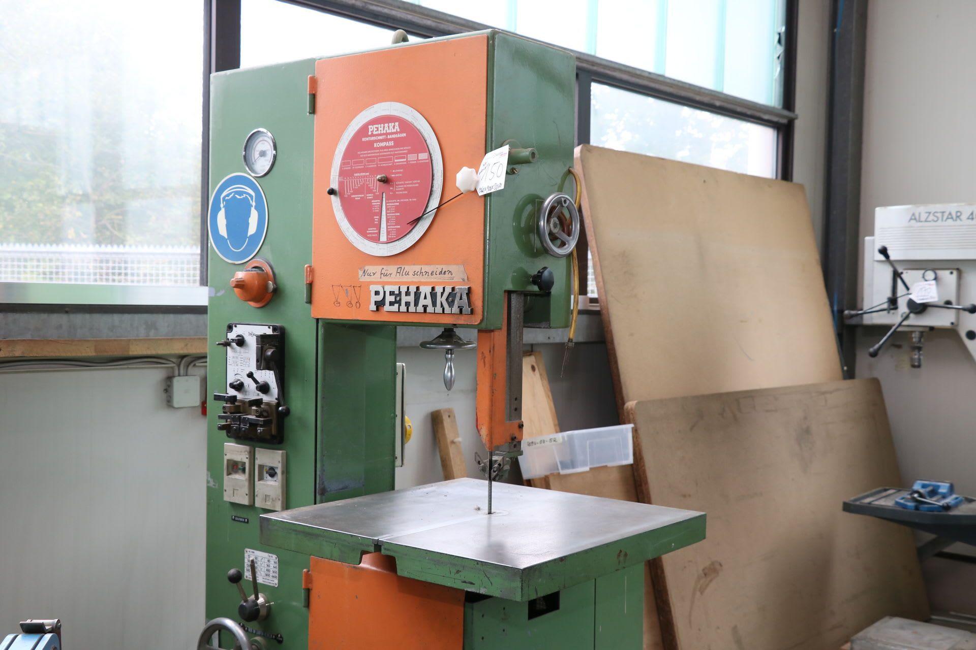 PETZING & HARTMANN USF-4 R Vertikal-Bandsägemaschine
