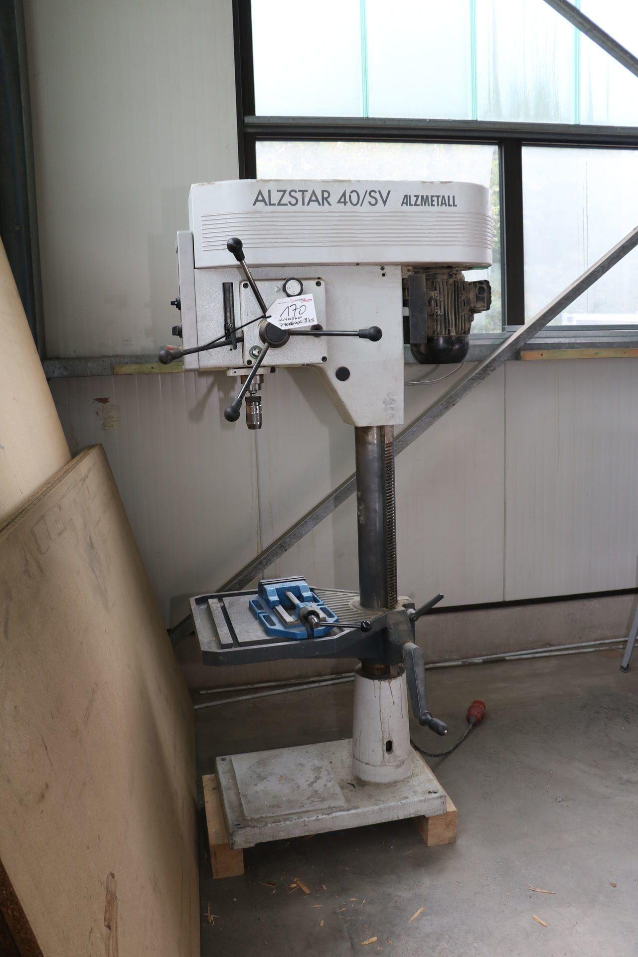 ALZMETALL ALZSTAR 40 / SV Säulenbohrmaschine