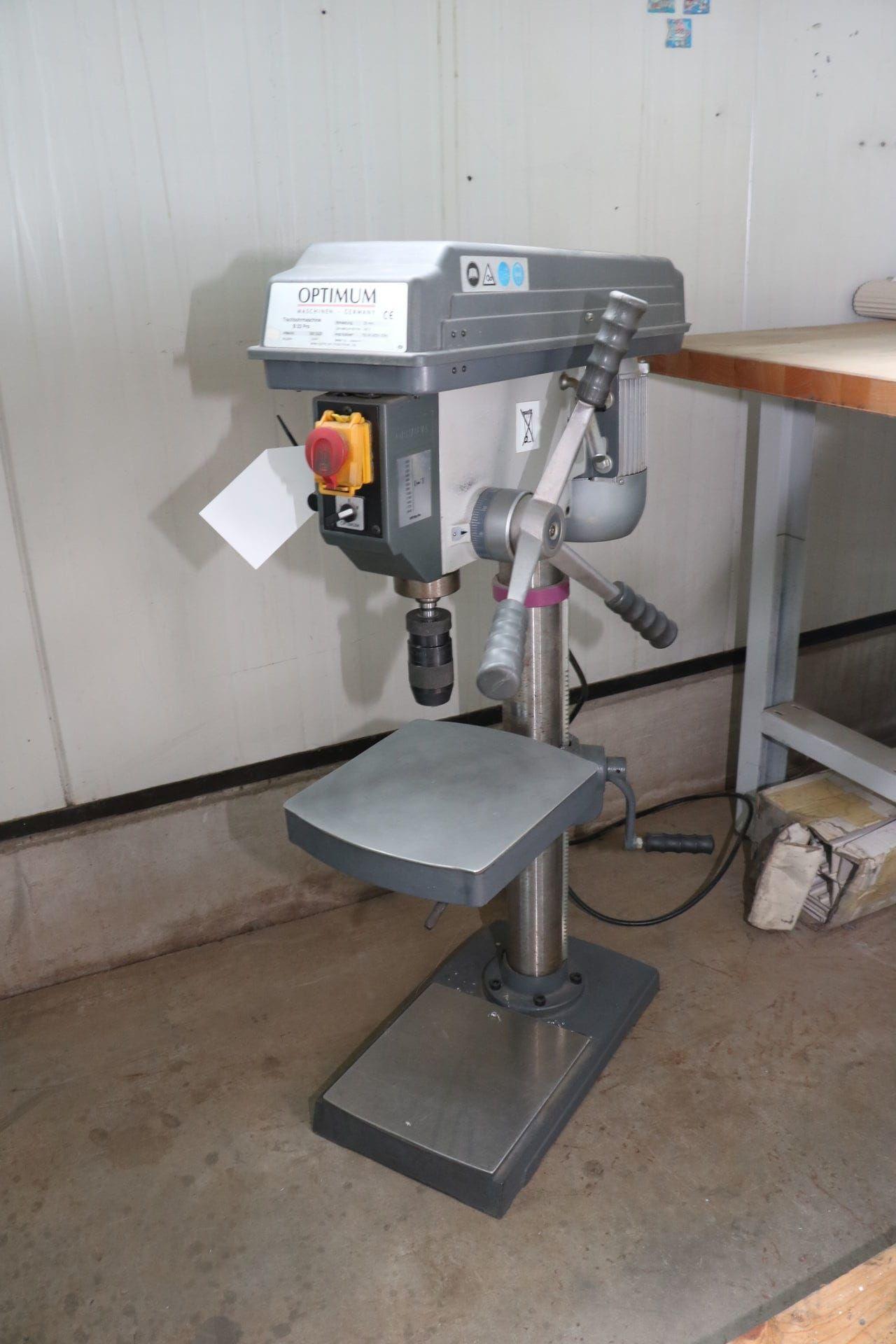 OPTIMUM B 23 PRO Tischbohrmaschine