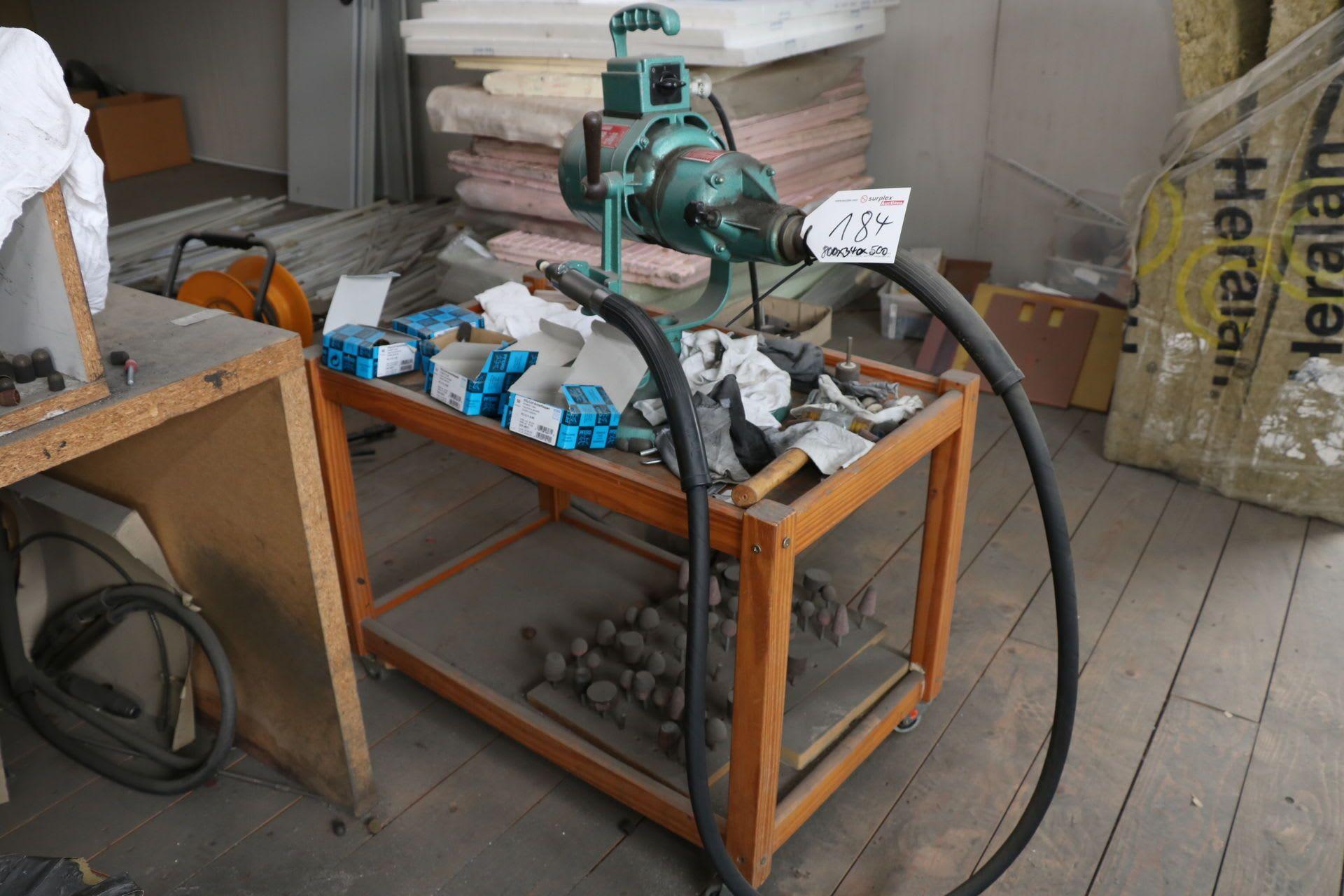 SUHNER ROTOFERA Schleifmaschine mit biegsamer Welle