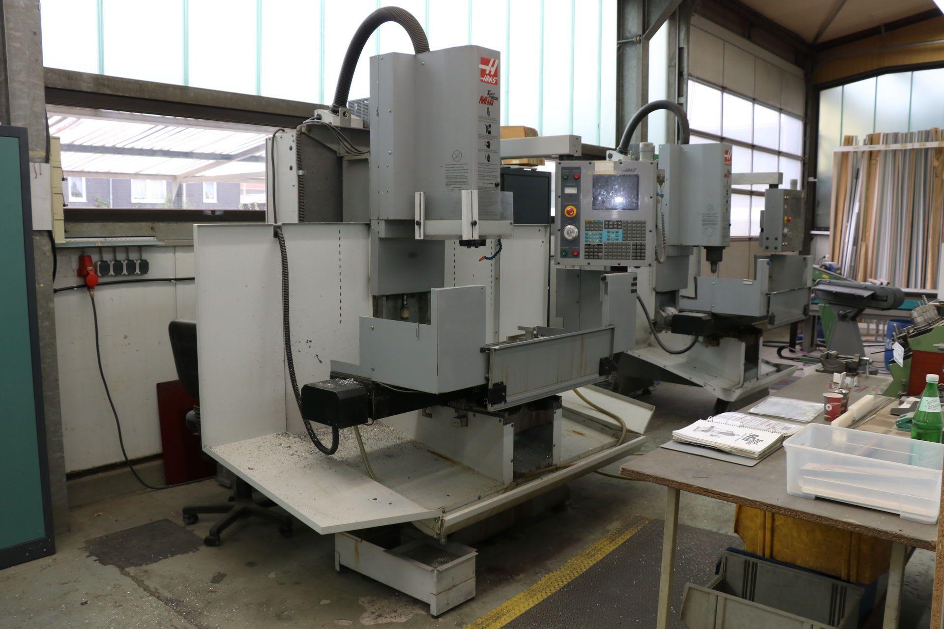 HAAS TM-2 HE Vertikal-Fräsmaschine