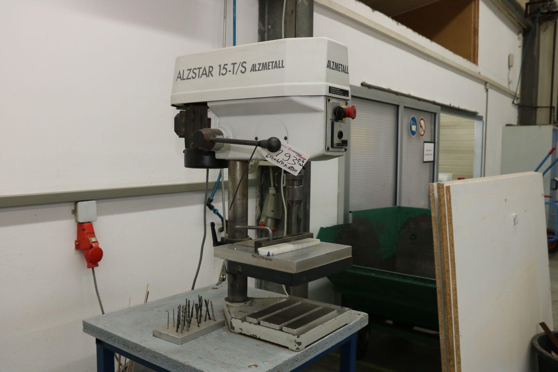 ALZMETALL ALZSTAR 15-T / S Tischbohrmaschine