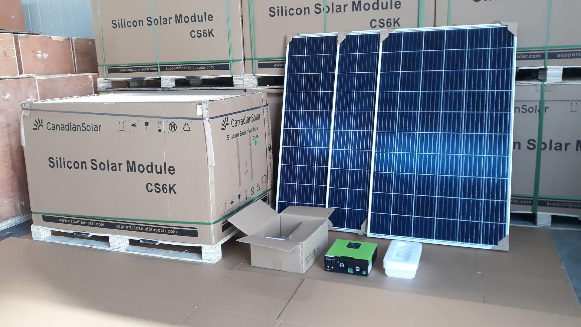 SOLAIRE SOLAIRE Photovoltaik-Kit 5 KW Classe A ++