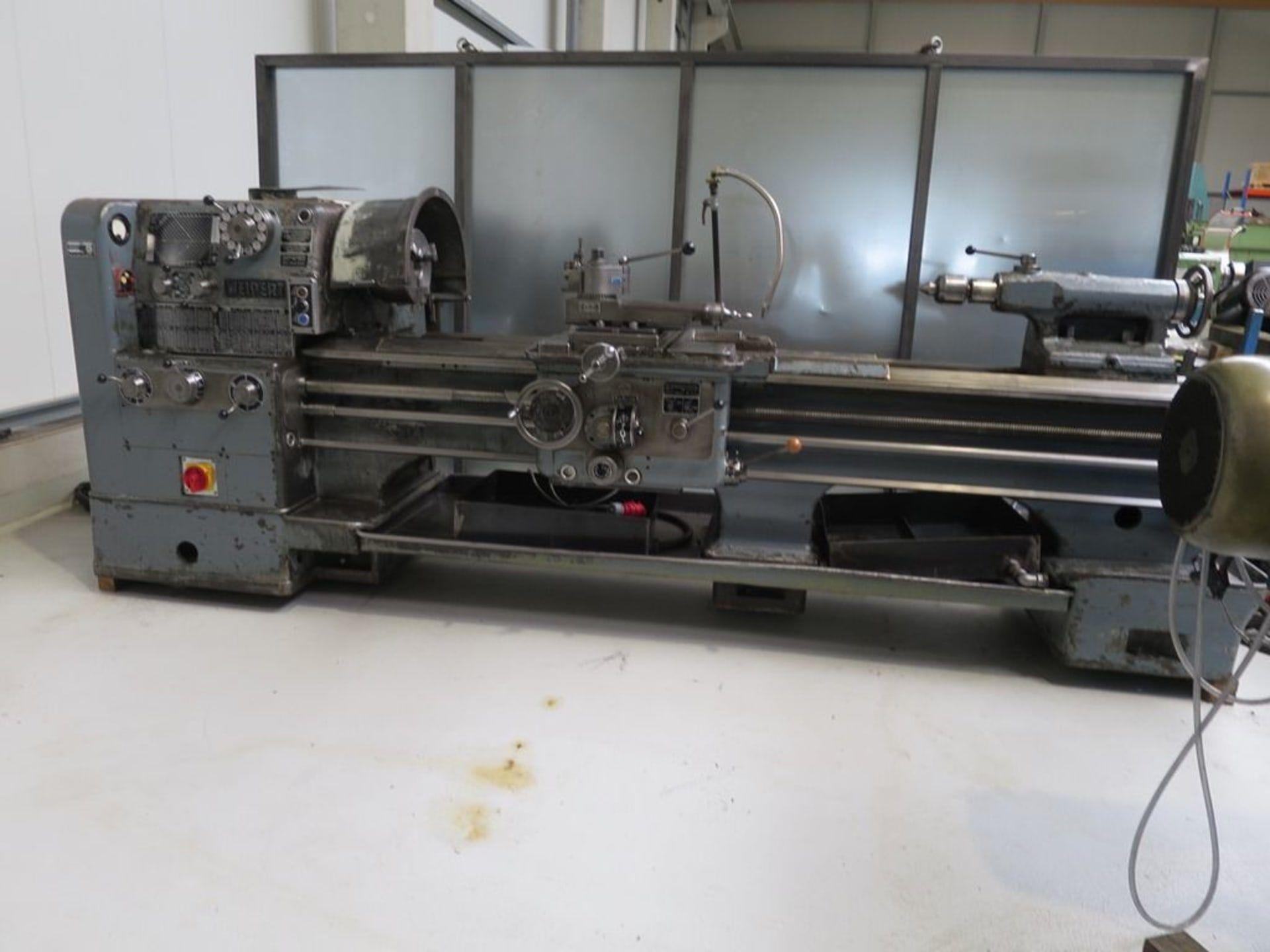 WEIPERT W500 Leit- und Zugspindeldrehmaschine