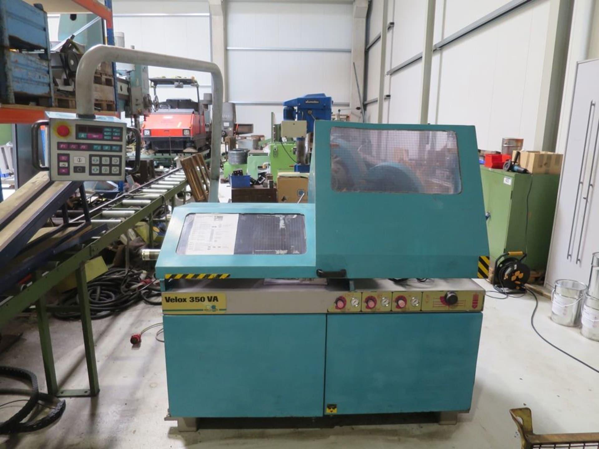 BERG & SCHMID Velox 350 VA Alu-Sägevollautomat