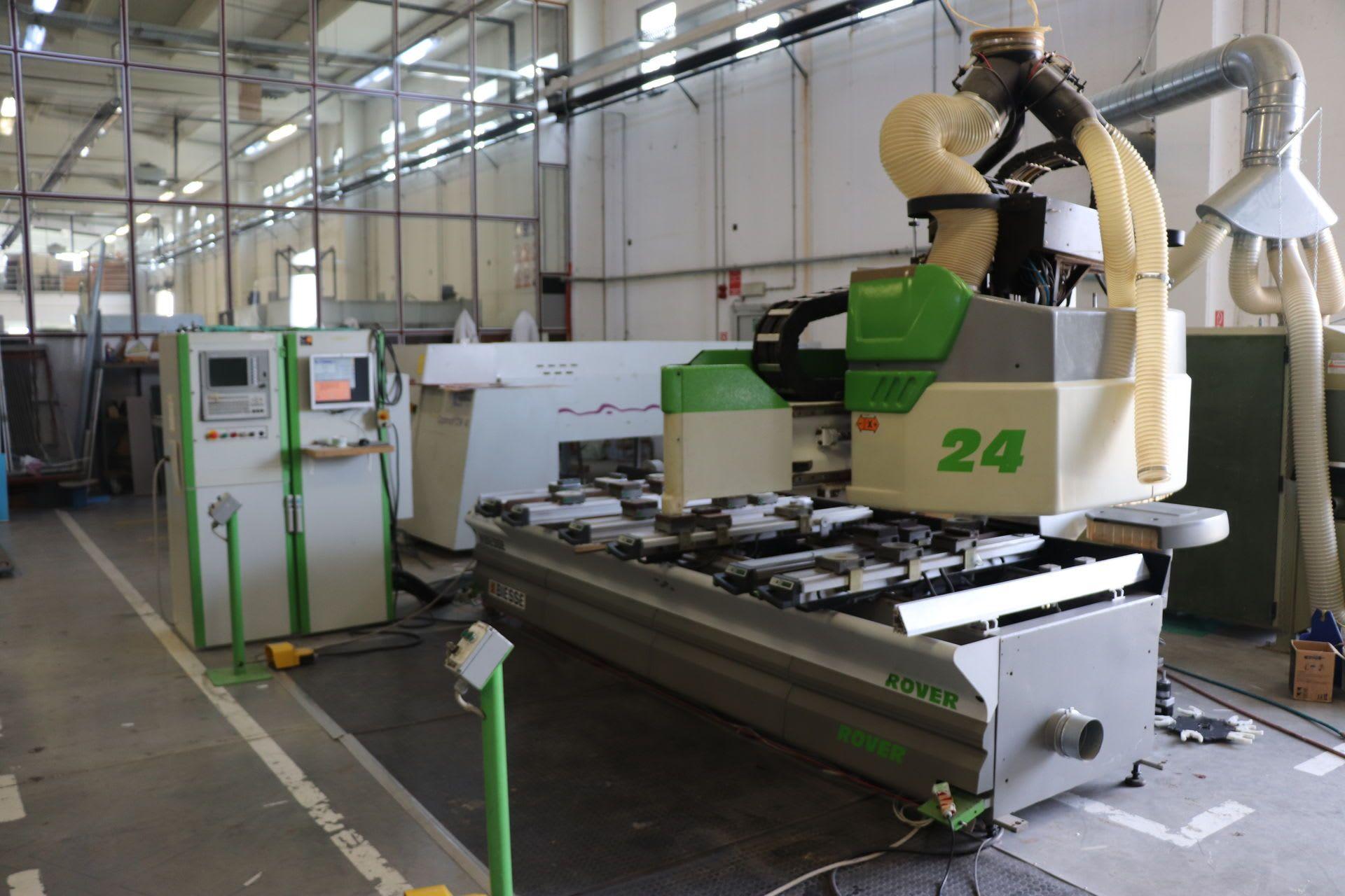BIESSE Rover 24S CNC-Maschine für Holzbearbeitung