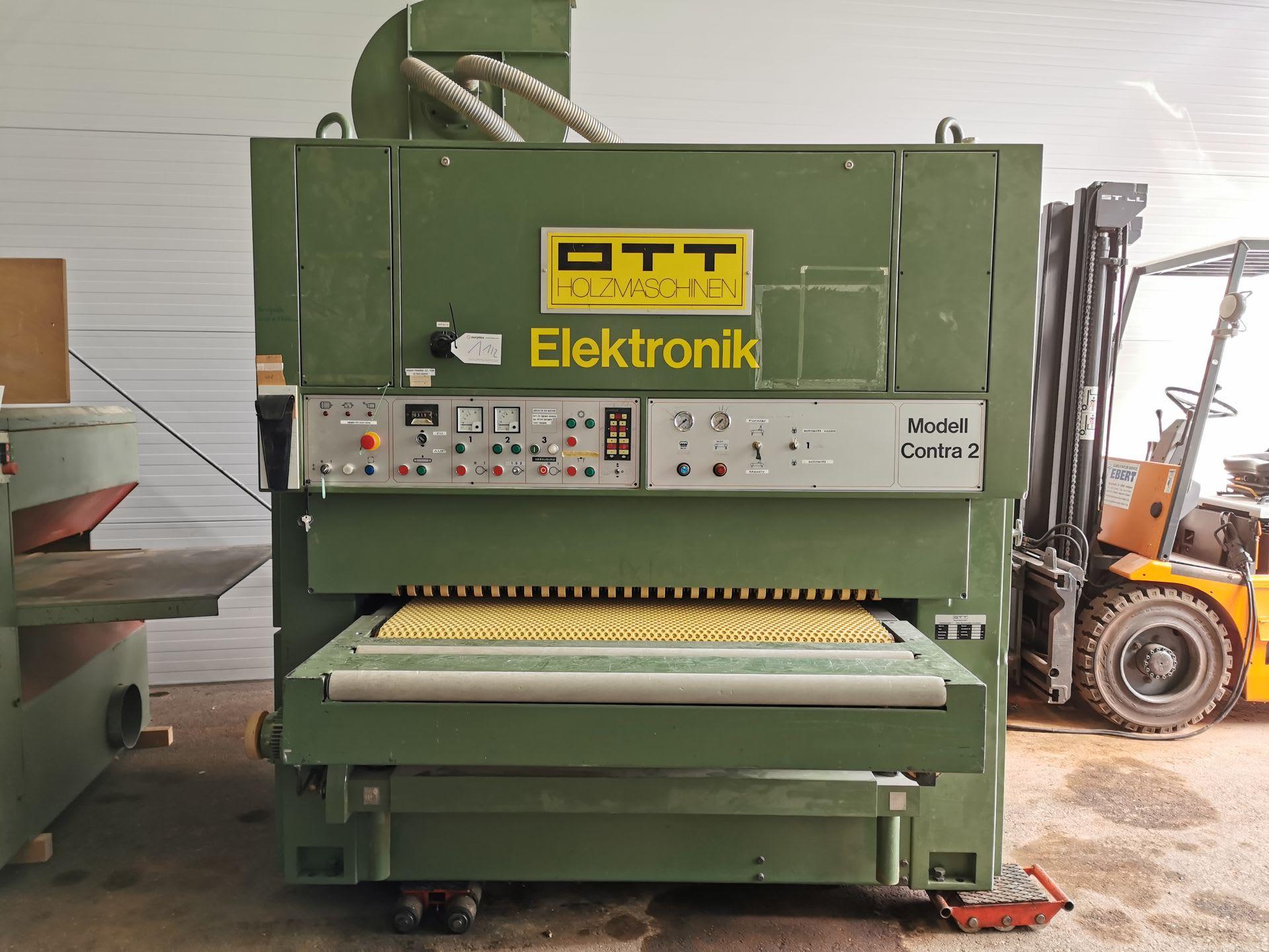 OTT CONTRA 2 Breitband-Schleifmaschine