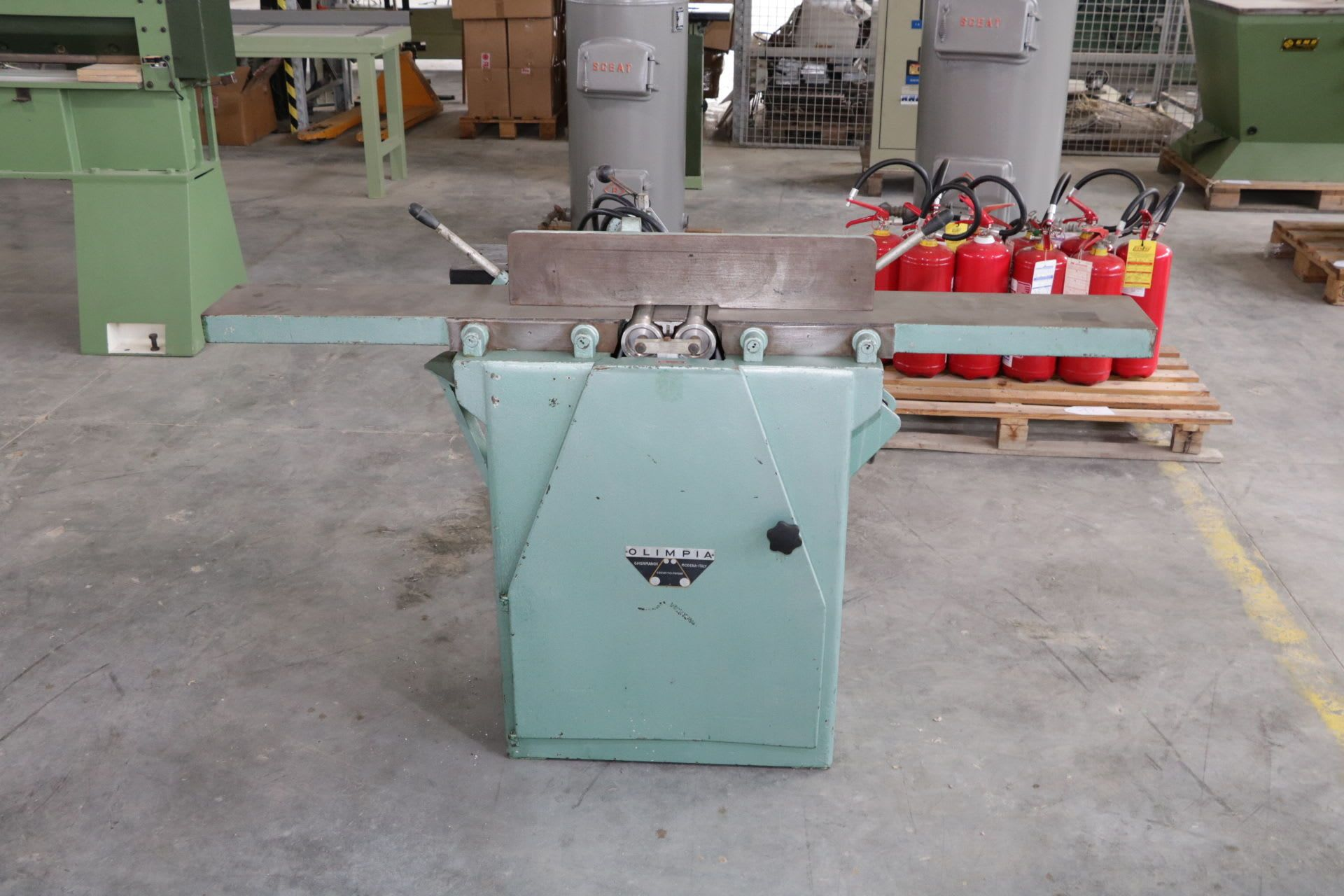 OLIMPIA GHERMANDI Breitbandschleifmaschine