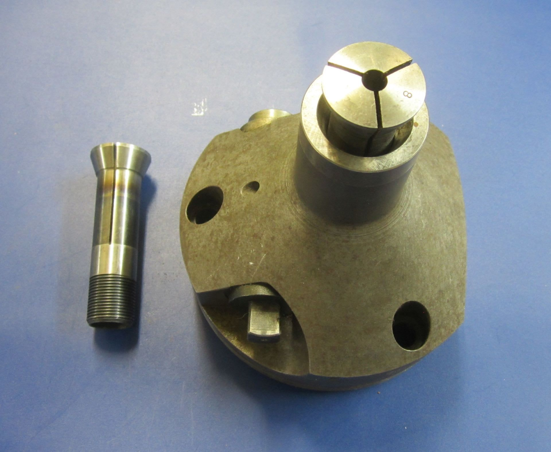 Posten Aufspannvorrichtungen / Spanndorne Ø 145 mm für Abwälzfräsmaschine