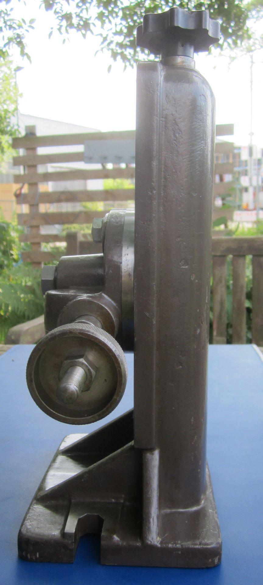 Reitstock - Gegenhalter aus Guß