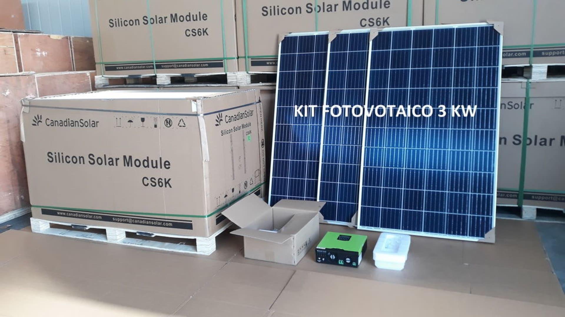 Photovoltaik-Kit 3 KW A++ class