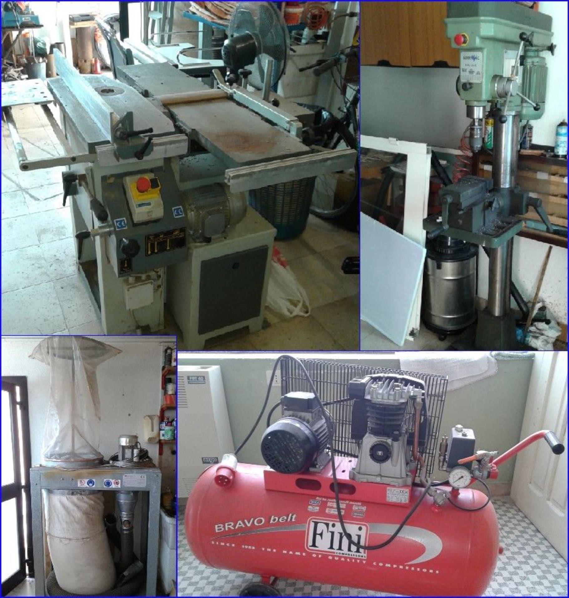 Einzelposten Holzbearbeitungsmaschinen