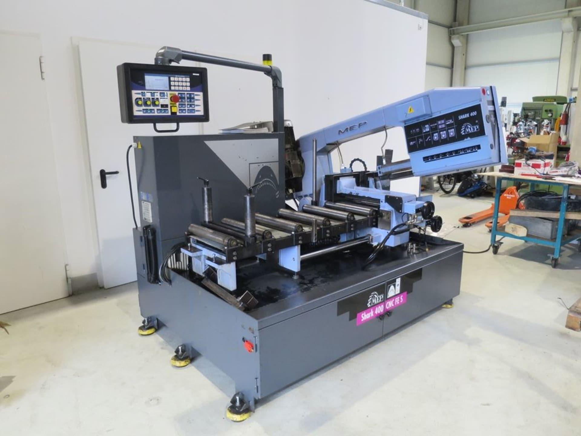 MEP Shark 400 CNC FE CNC Bandsägeautomat