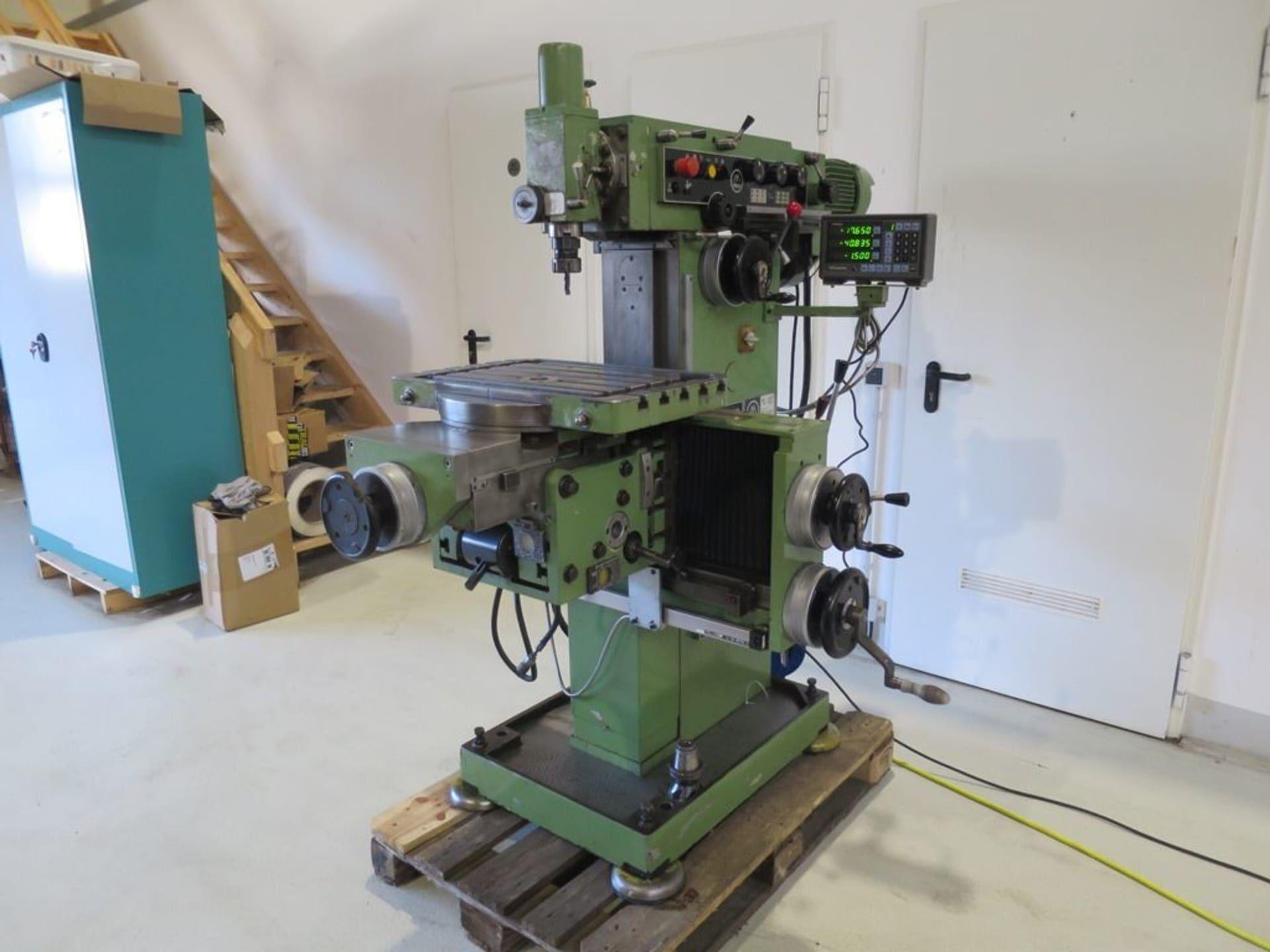 MAHO MH 600 Werkzeug-Fräsmaschine
