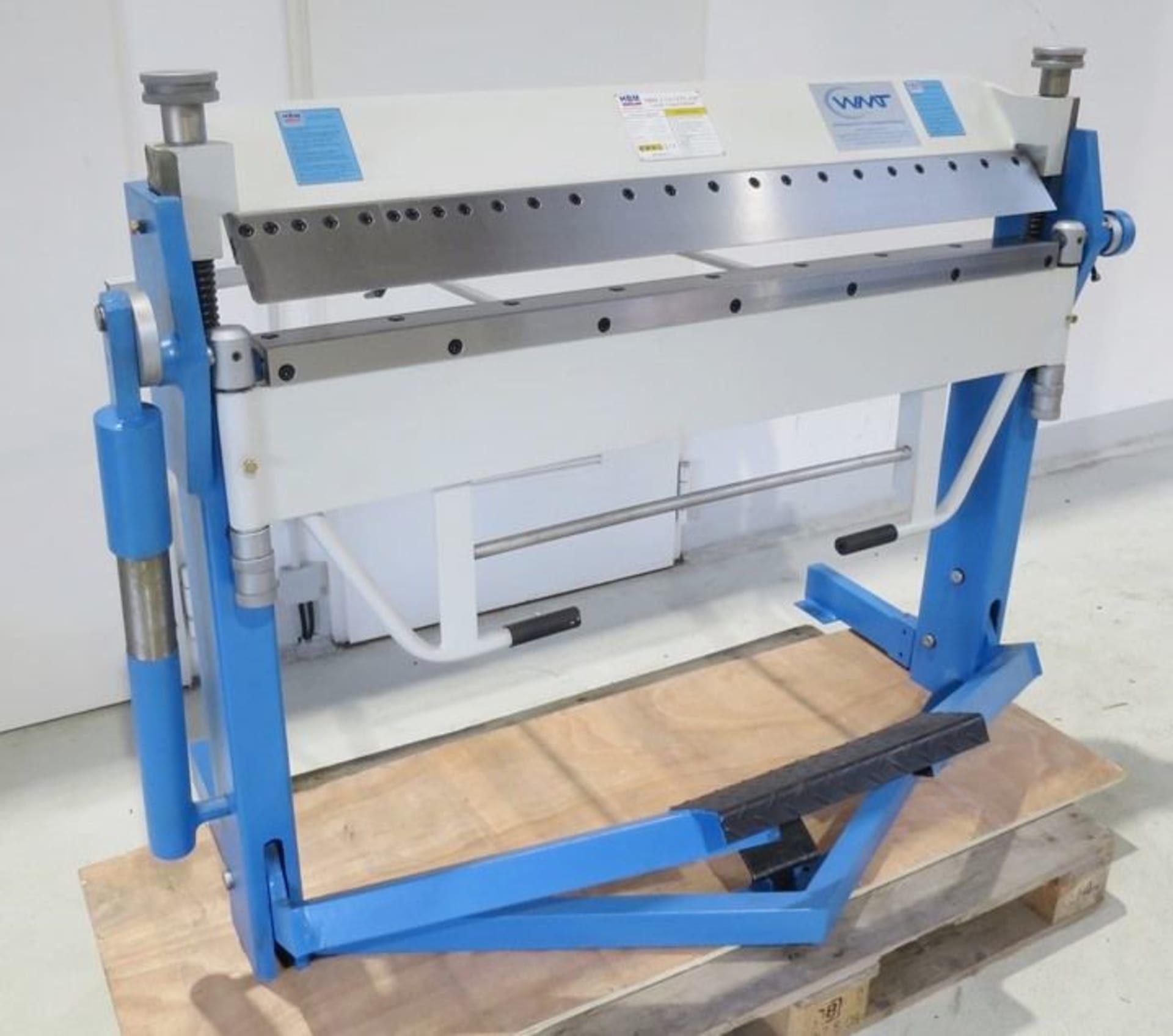 HBM 1020 x 2,5 Schwenkbiegemaschine
