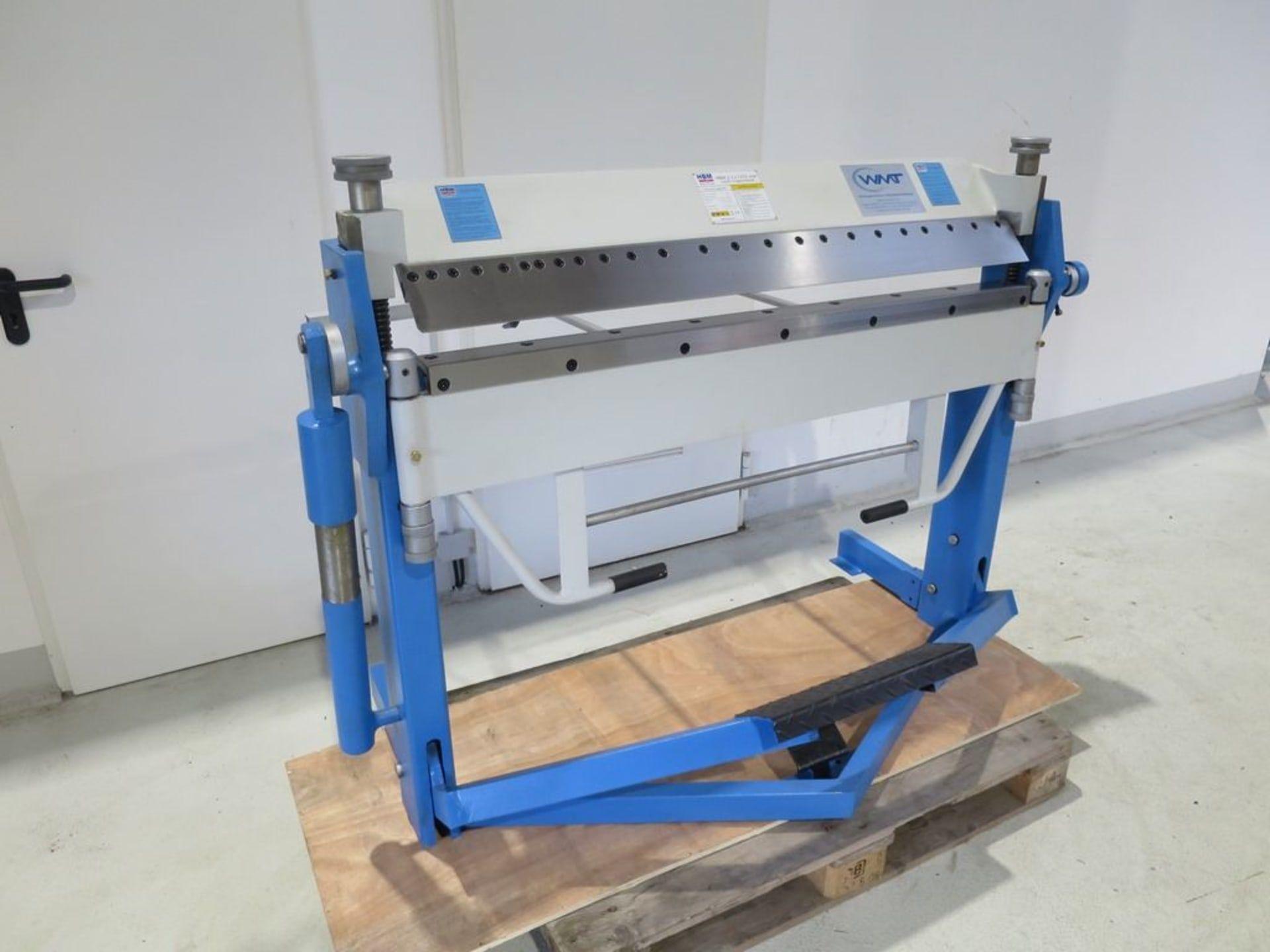 HBM 1270 x 2,0 Schwenkbiegemaschine