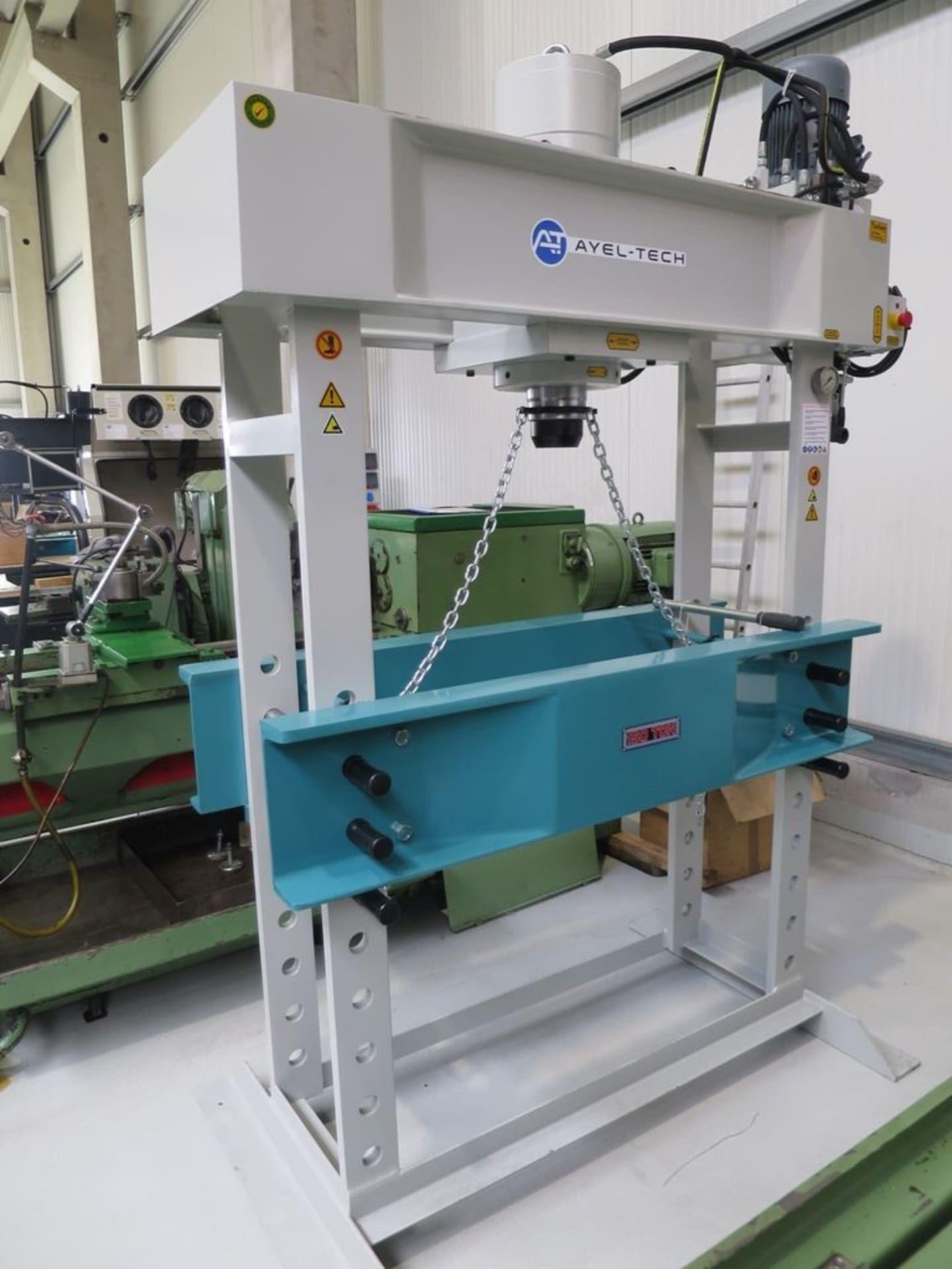 AYEL-TECH WP 150 Werkstattpresse - hydraulisch