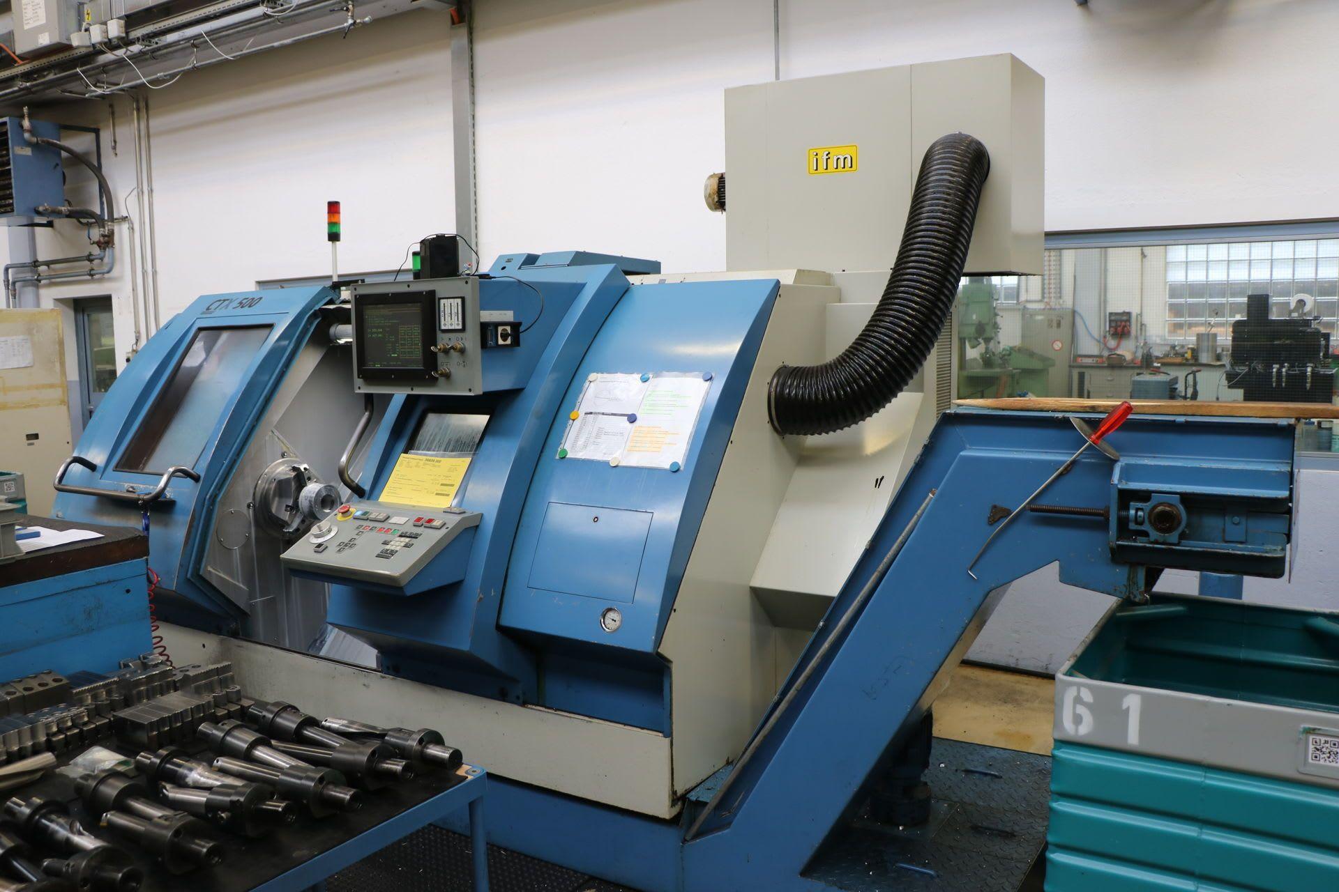 GILDEMEISTER CTX 500 CNC-Drehmaschine