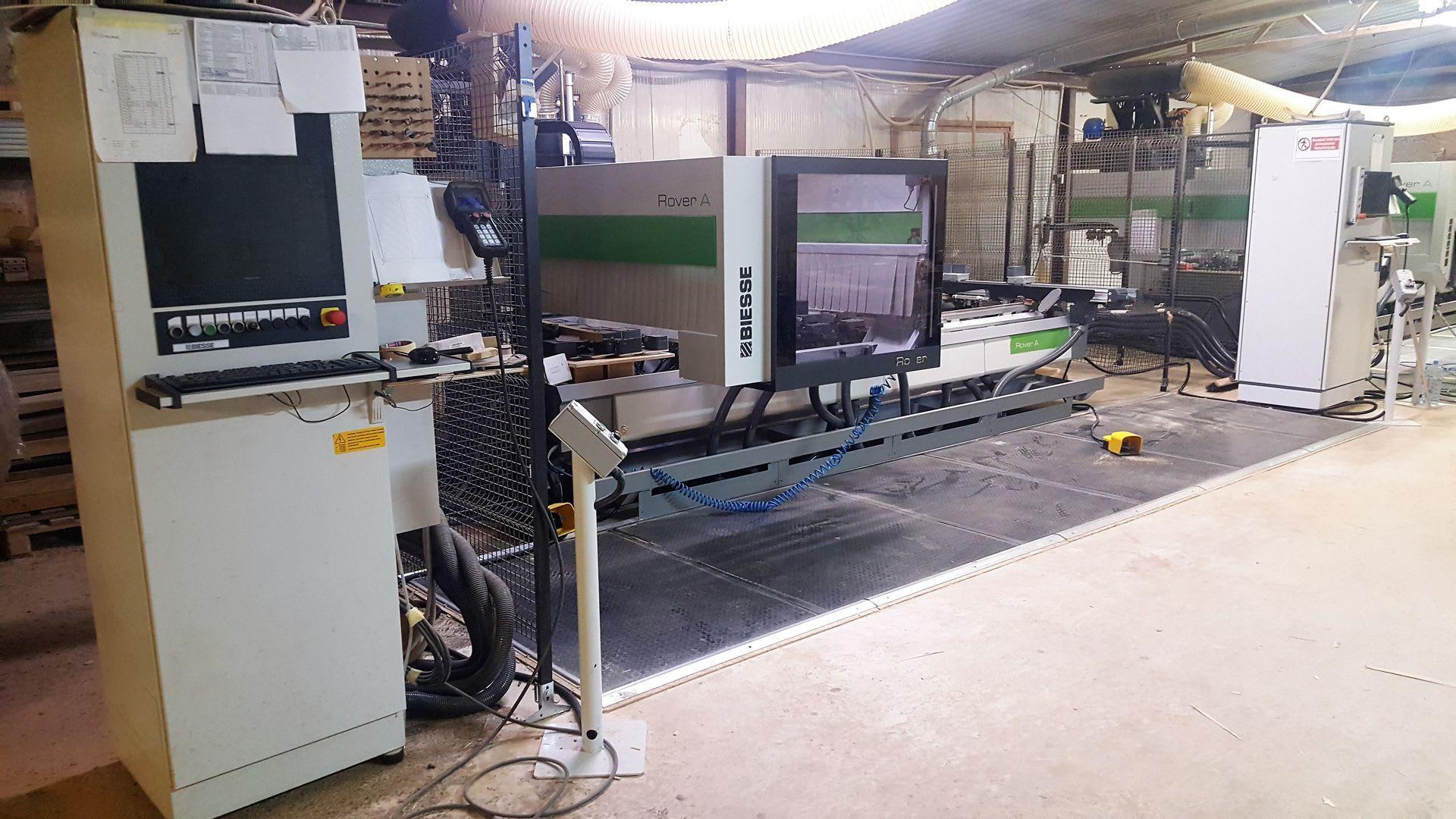 BIESSE ROVER A 1632 CNC-Bearbeitungszentrum