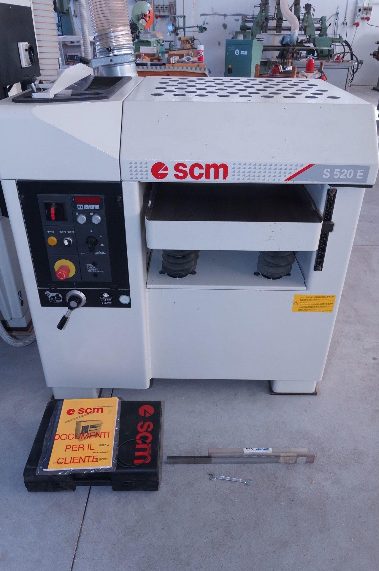 SCM S520E Dickenhobelmaschine
