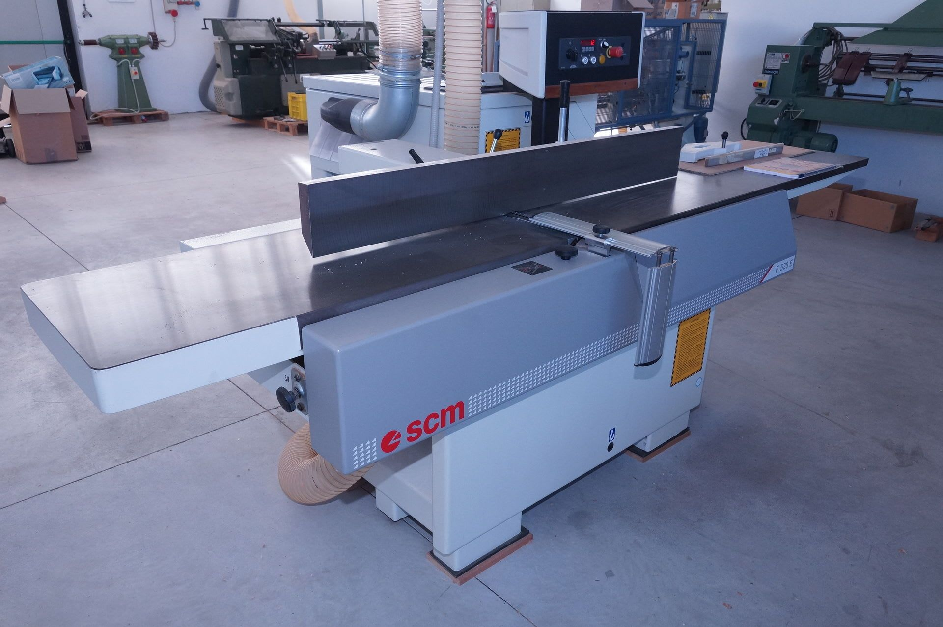 SCM F520E Abrichthobelmaschine