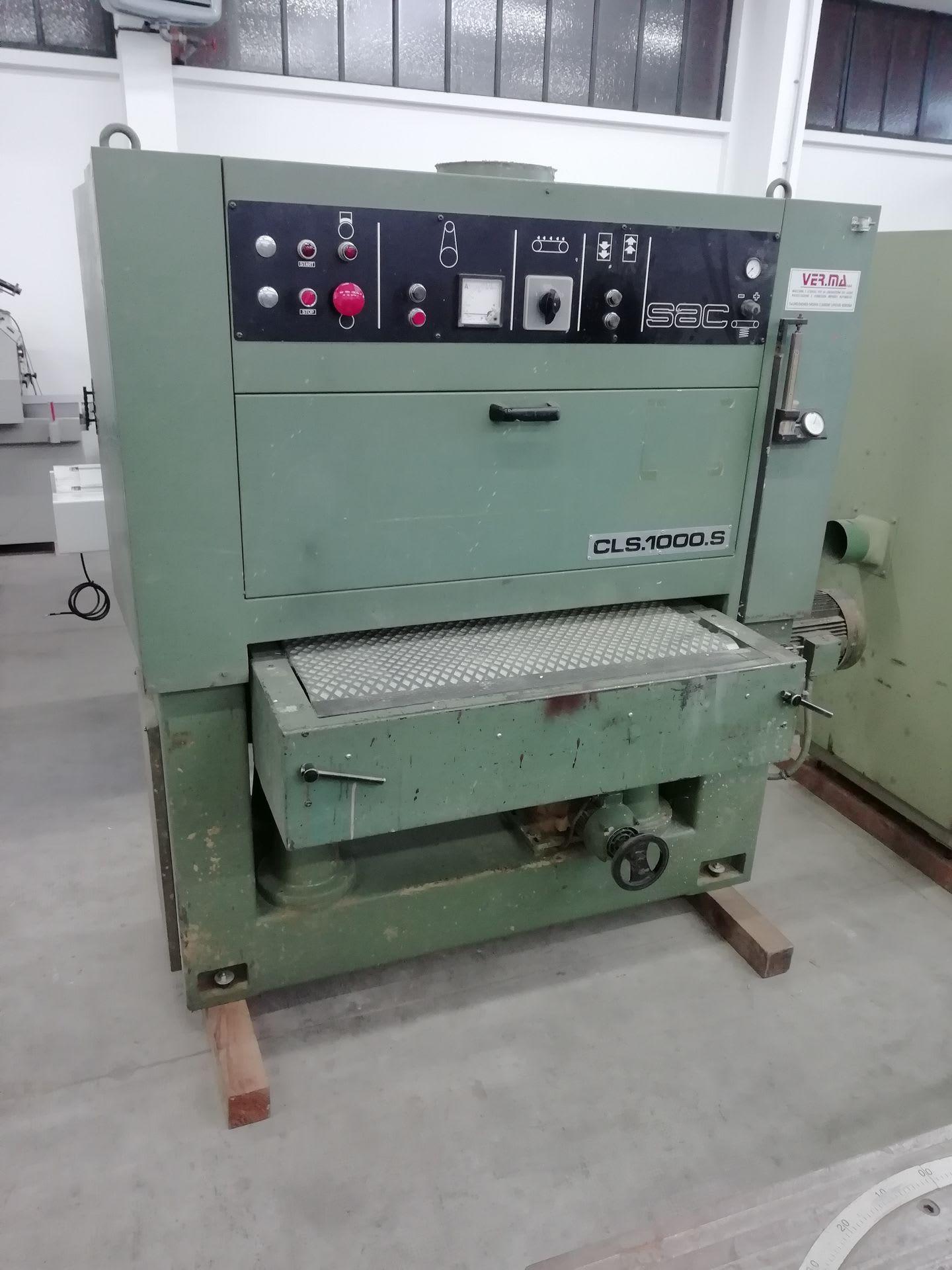 SAC CLS1000S Kalibriermaschine