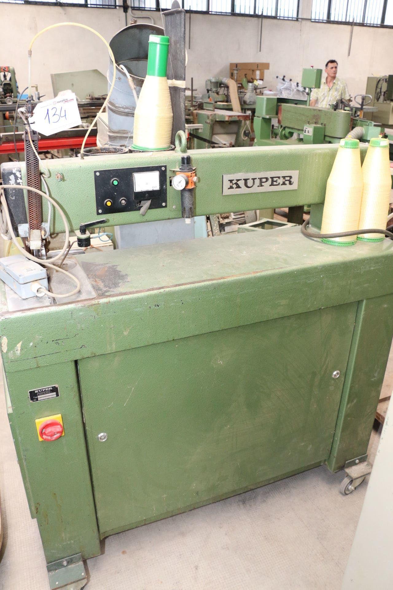 KUPER FW/J900 Furnierzusammensetzmaschine